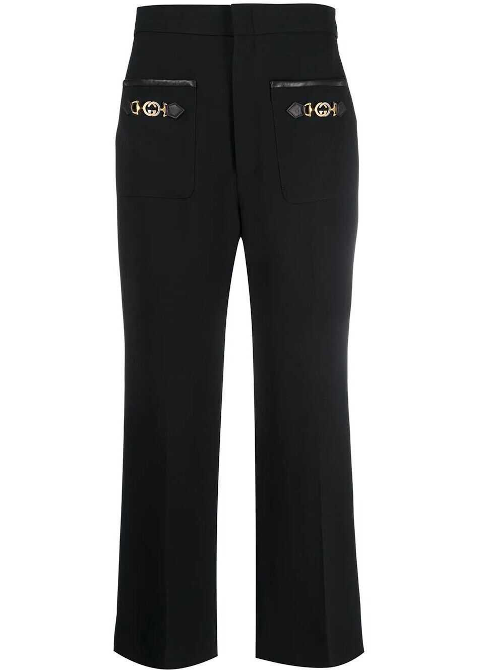 Gucci Silk Pants BLACK