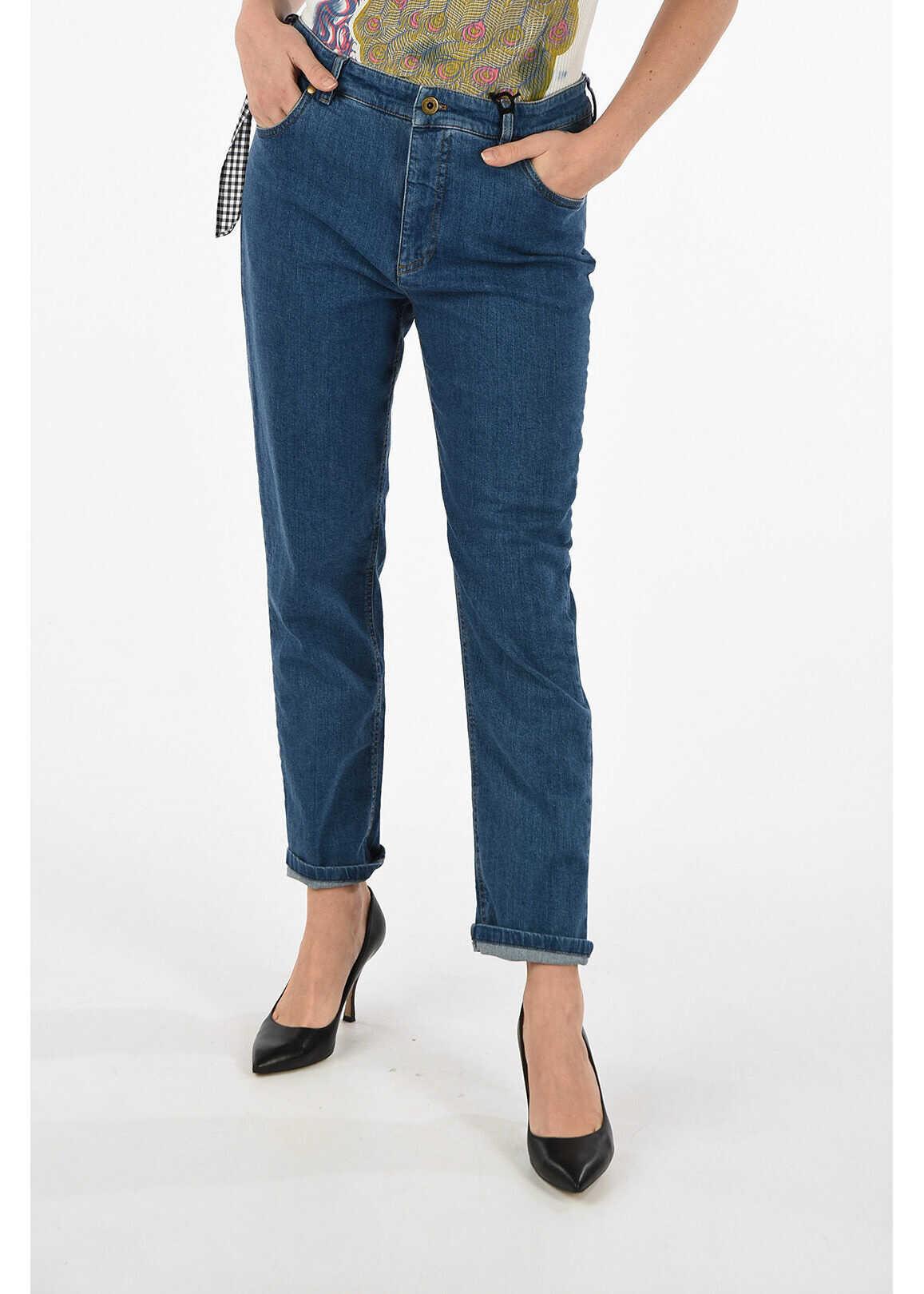 Miu Miu Stretch Denim jeans BLUE
