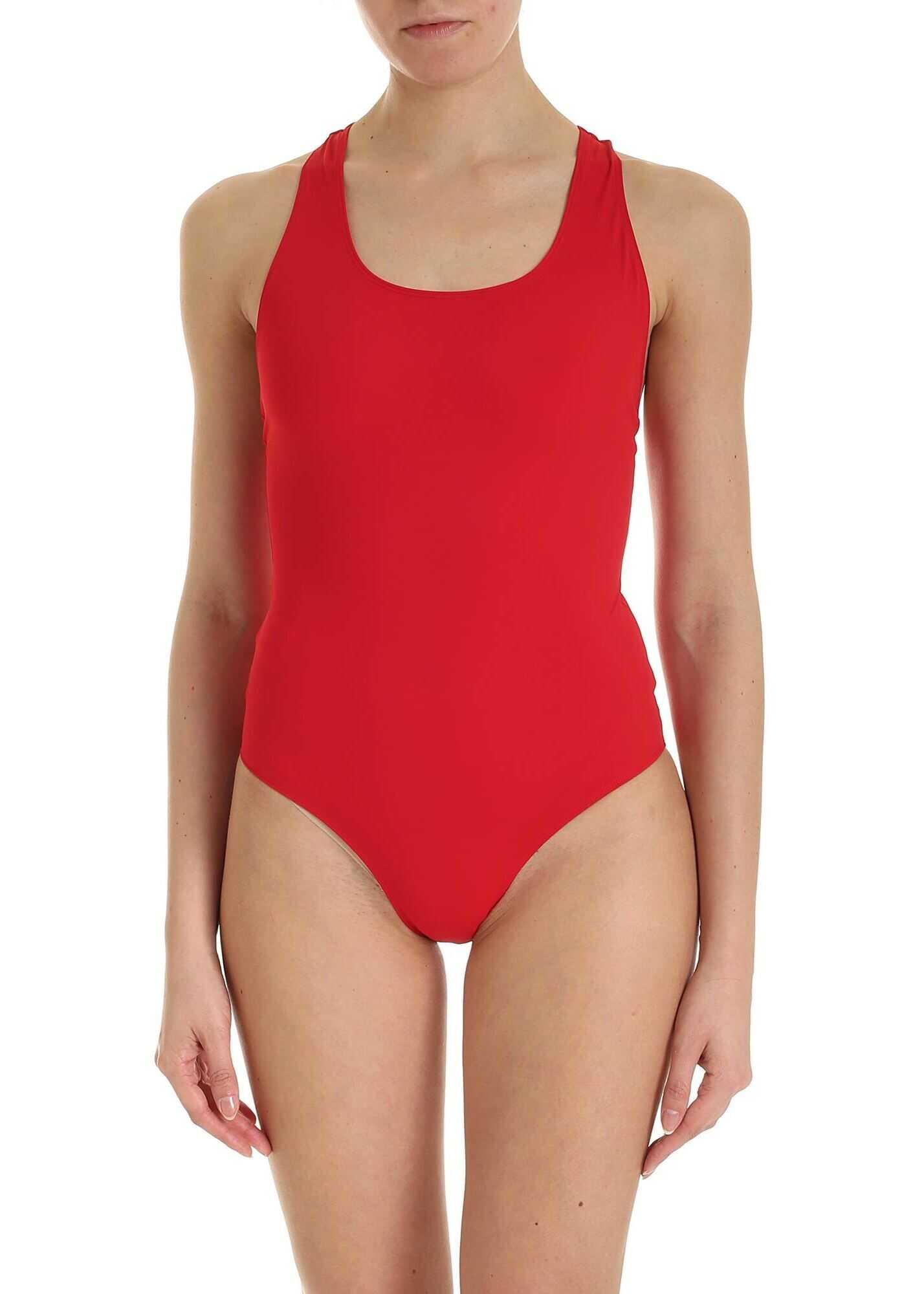 Pinko Acero 1 Swimsuit In Red Red