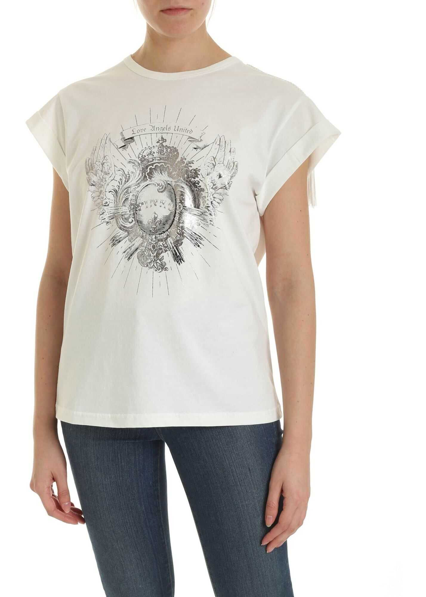 Pinko Cantucci T-Shirt In White White