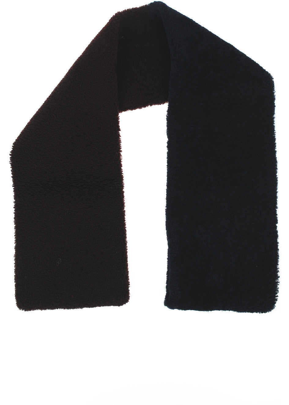 Maison Margiela Real Fur Scarf BROWN