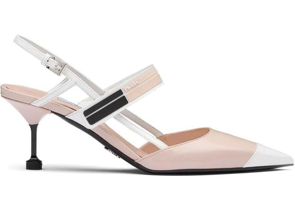 Prada Leather Heels PINK