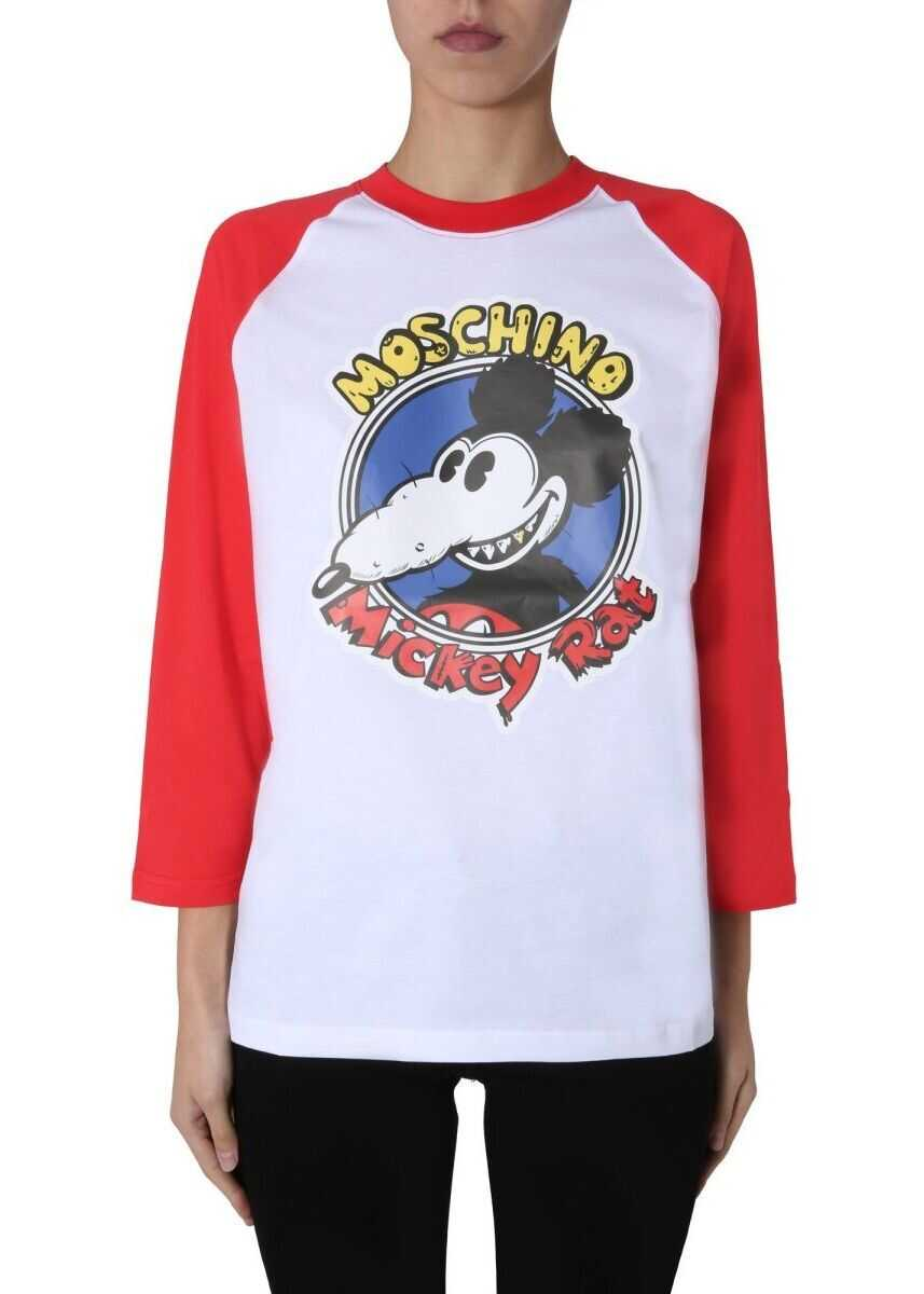 Moschino Cotton T-Shirt WHITE