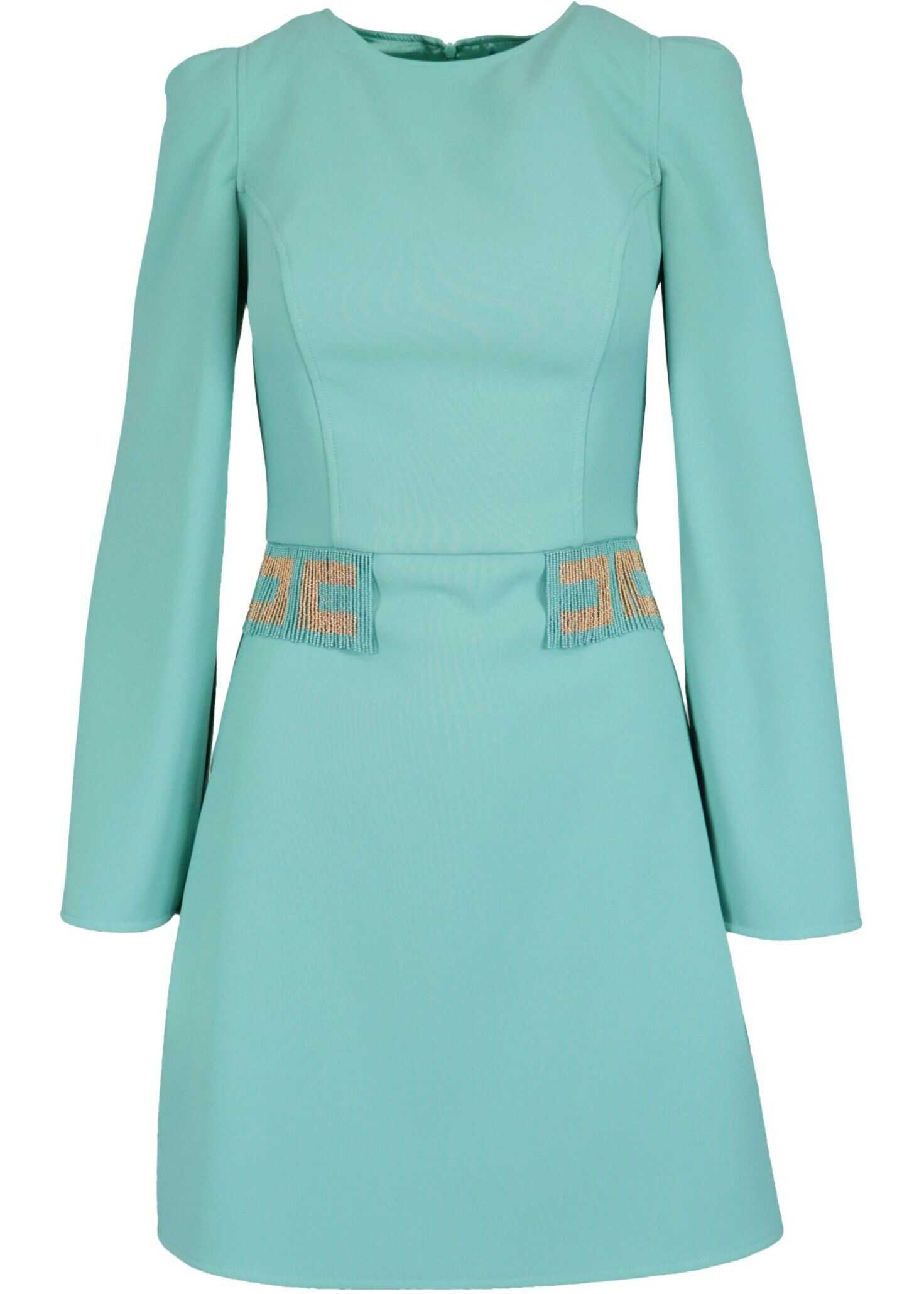 Elisabetta Franchi Polyester Dress LIGHT BLUE