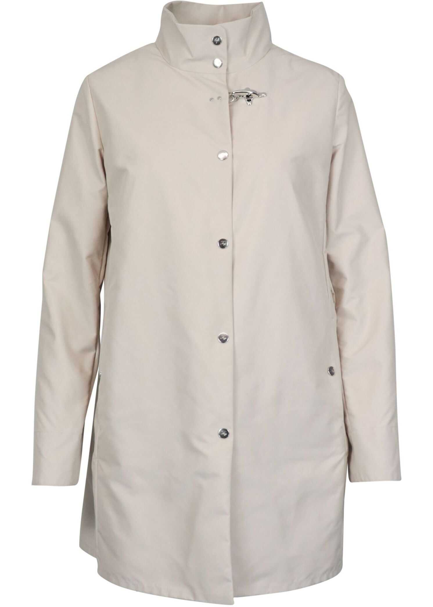 Fay Polyester Coat BEIGE