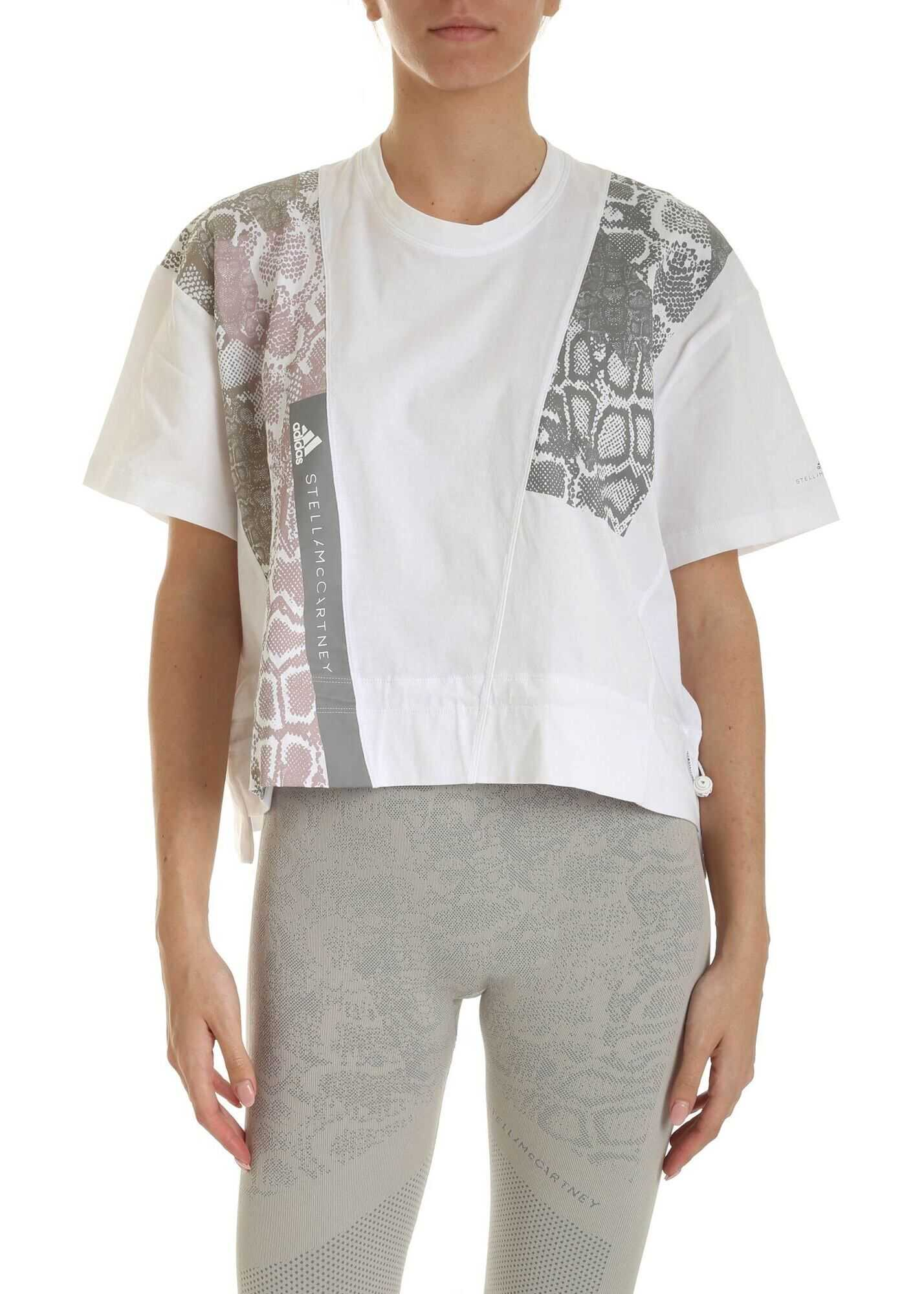 adidas by Stella McCartney Graphic T-Shirt In White White