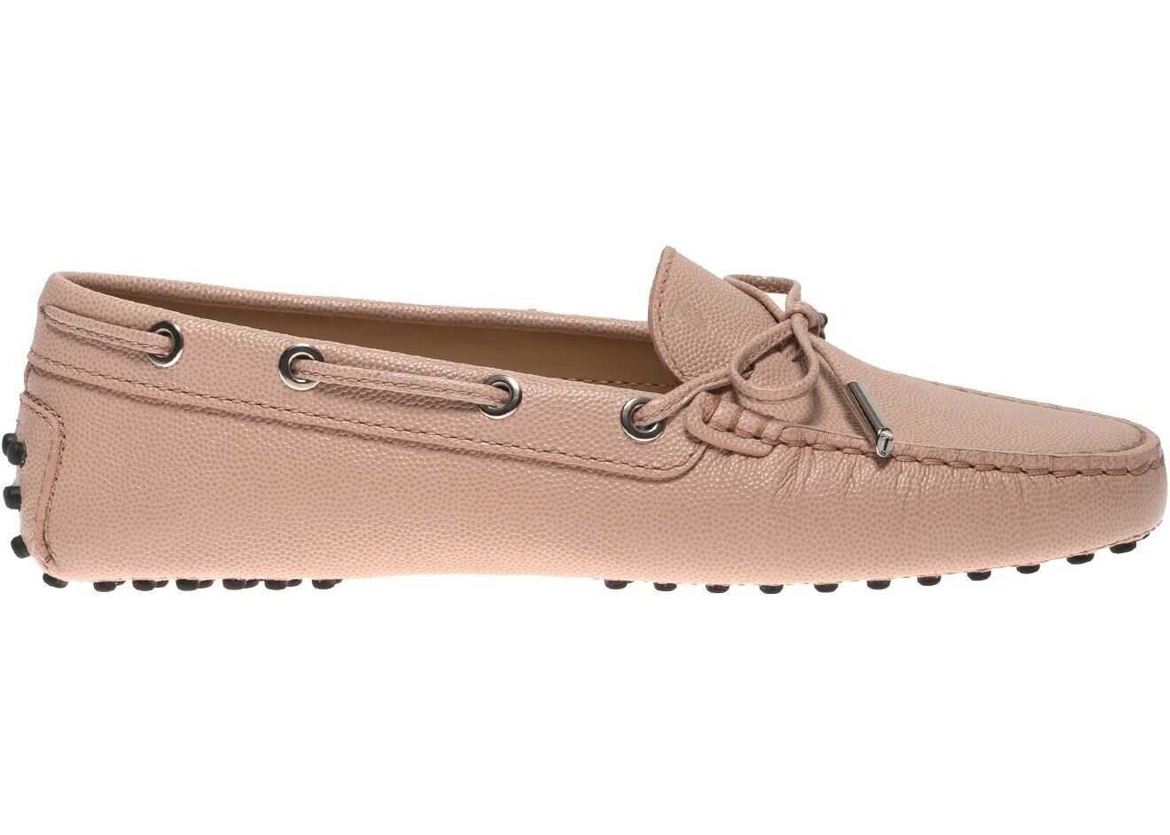 TOD'S Gommino Loafers In Powder Pink Leather Pink