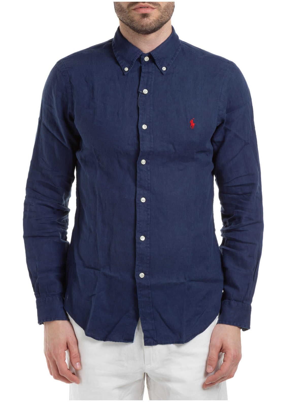 Ralph Lauren Dress Shirt Blue imagine