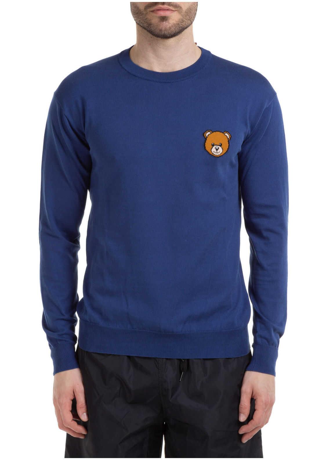 Moschino Teddy Bear Blue