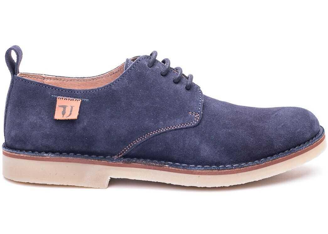 Suede Lace-Up Shoes thumbnail