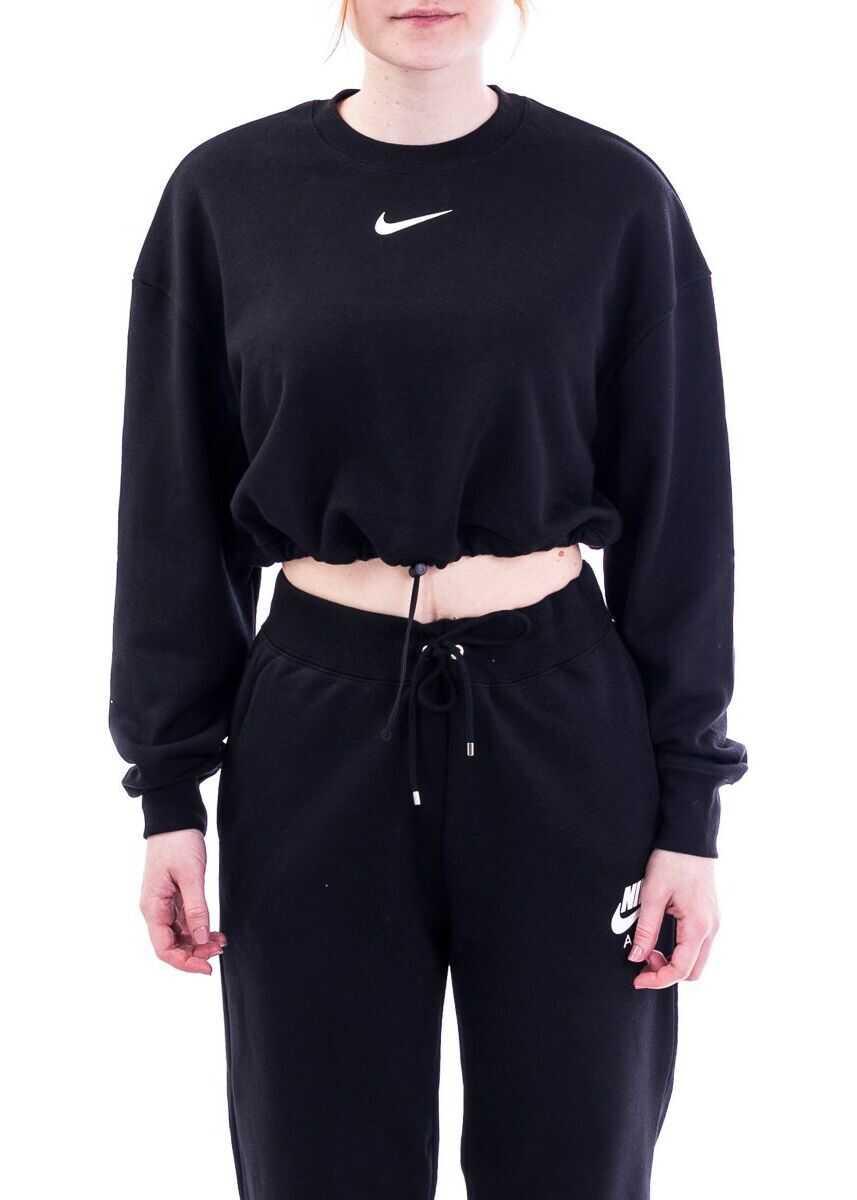 Nike Cotton Sweatshirt BLACK