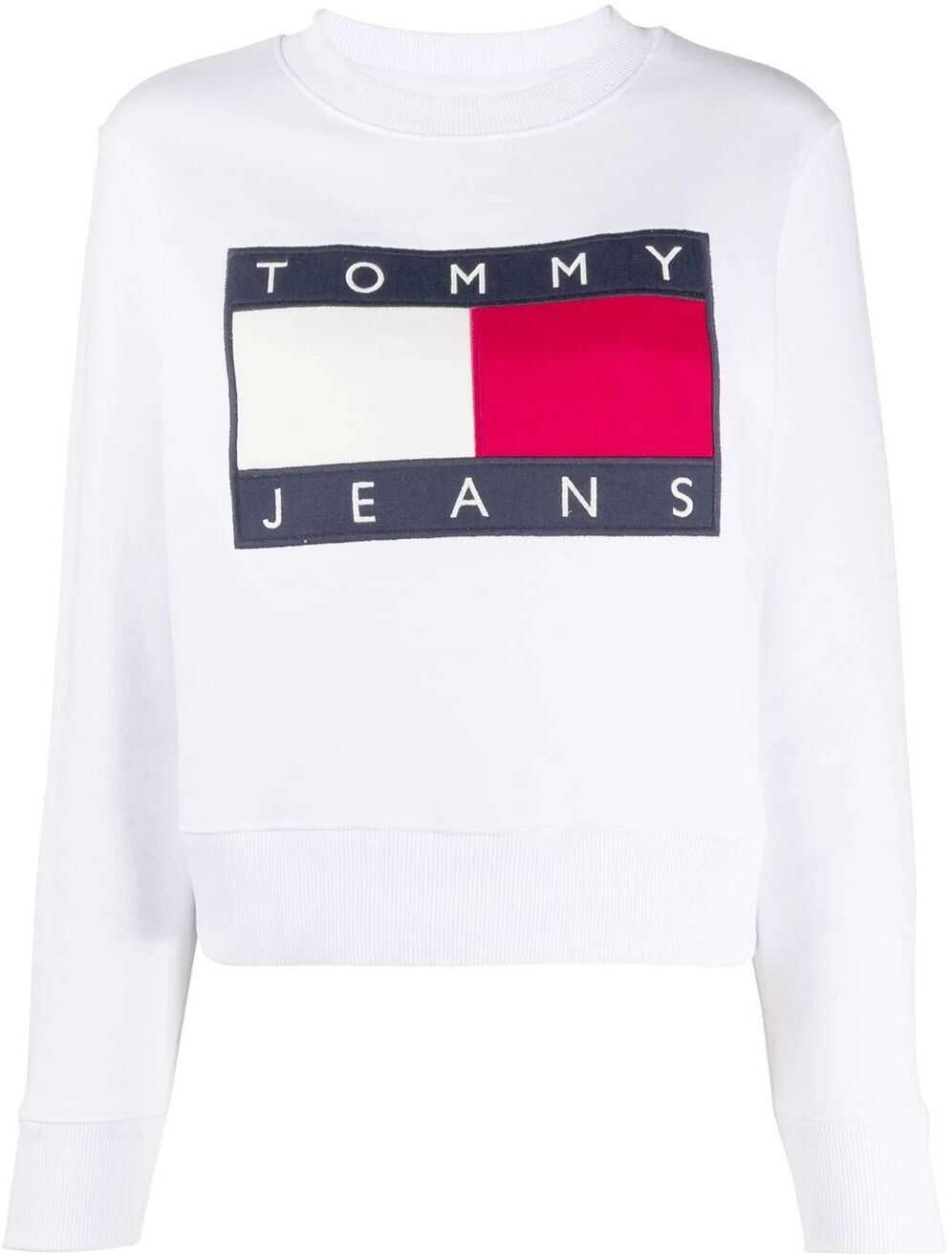 Tommy Hilfiger Cotton Sweatshirt WHITE