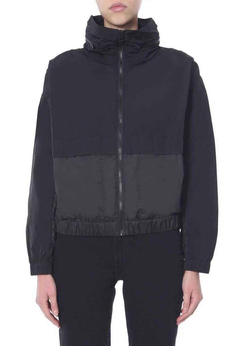 Kenzo Polyester Outerwear Jacket BLACK