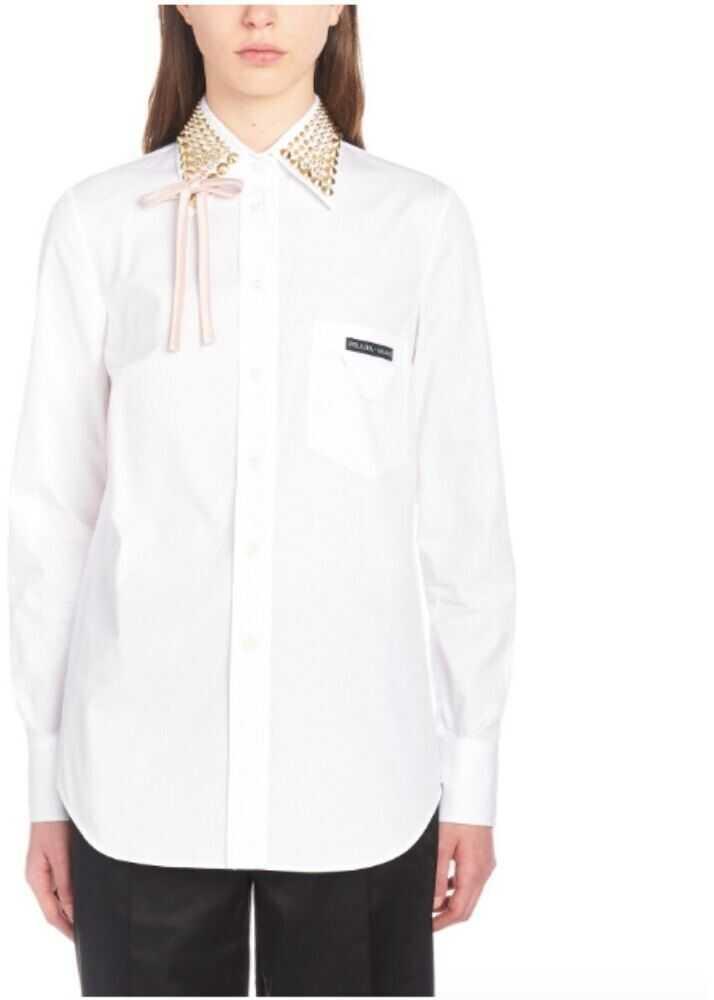 Prada Cotton Shirt WHITE