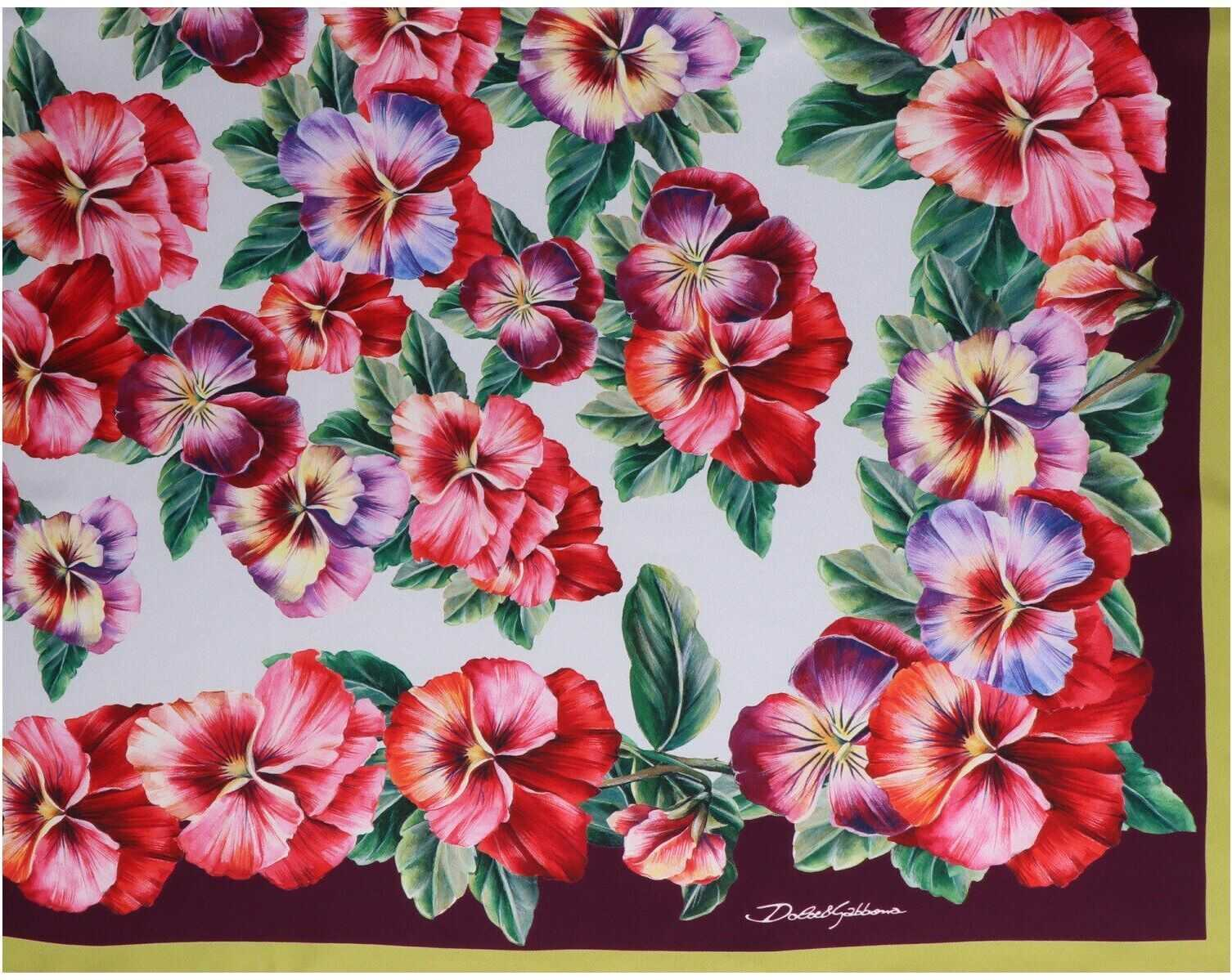 Dolce & Gabbana Silk Foulard MULTICOLOR