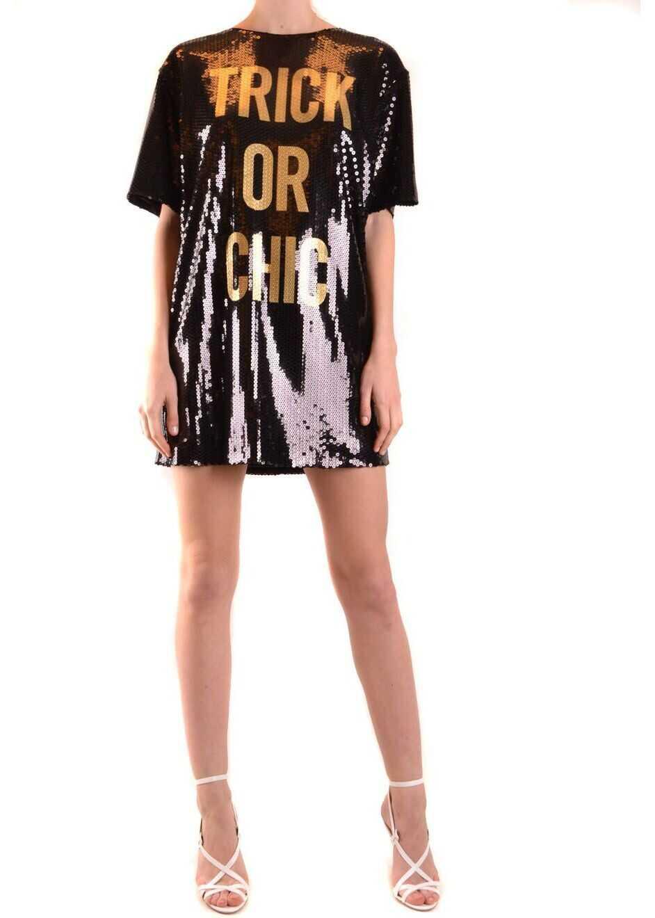 Moschino Viscose Dress BLACK