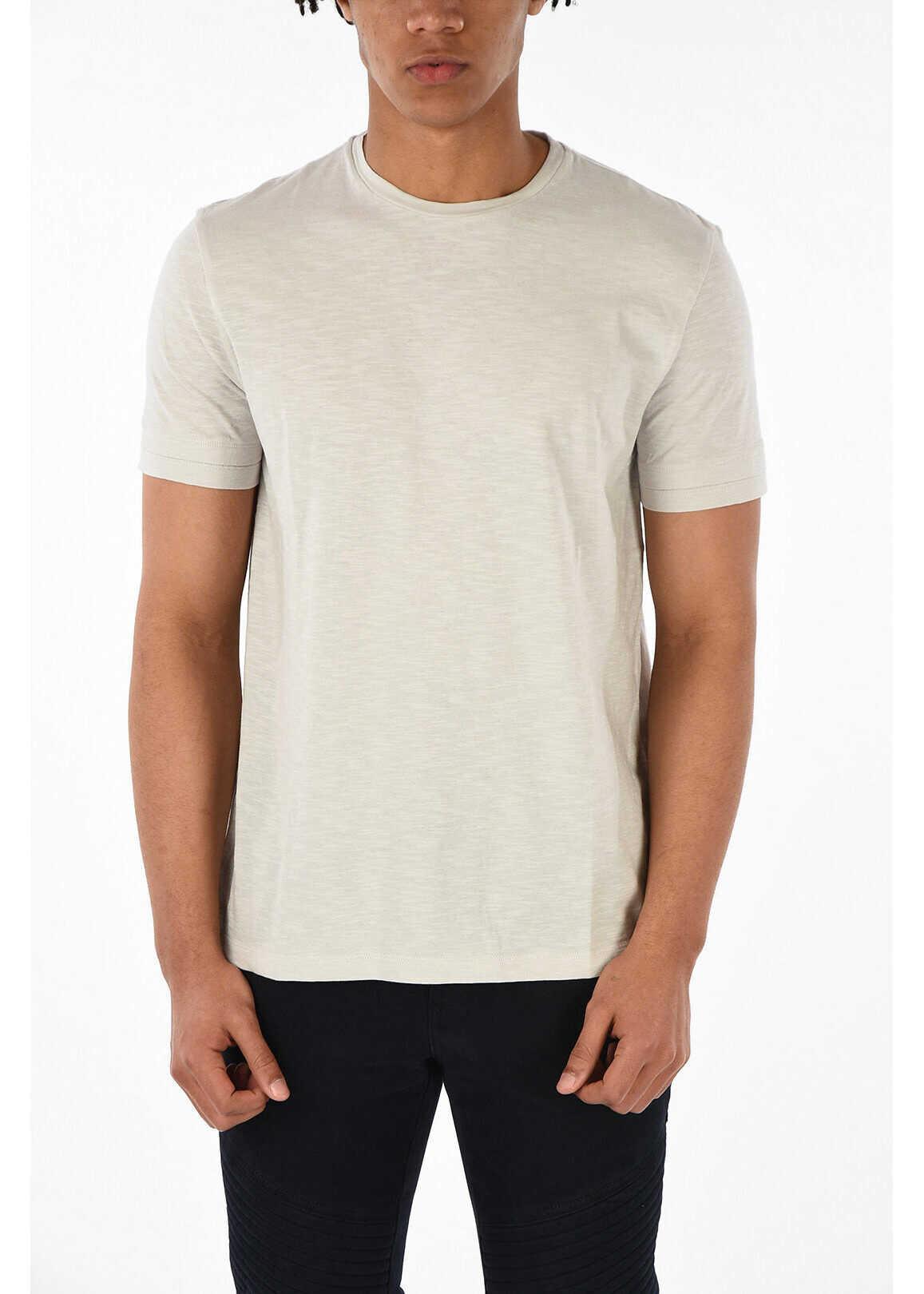 Neil Barrett Crewneck LOOSE FIT T-shirt BEIGE