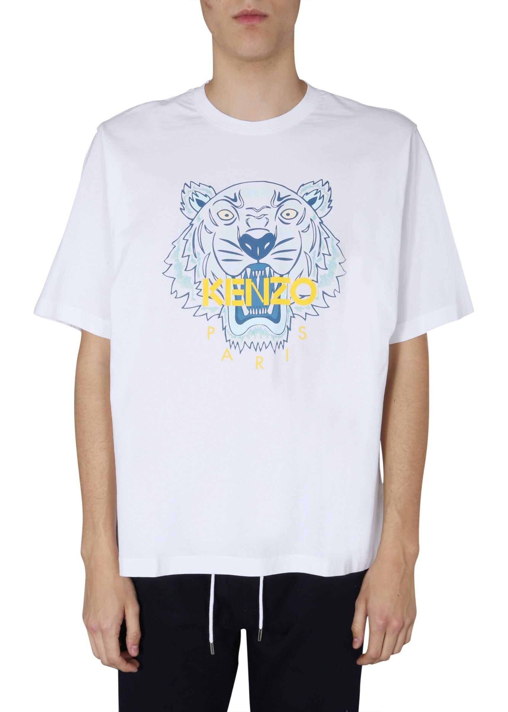 Kenzo Round Neck T-Shirt WHITE