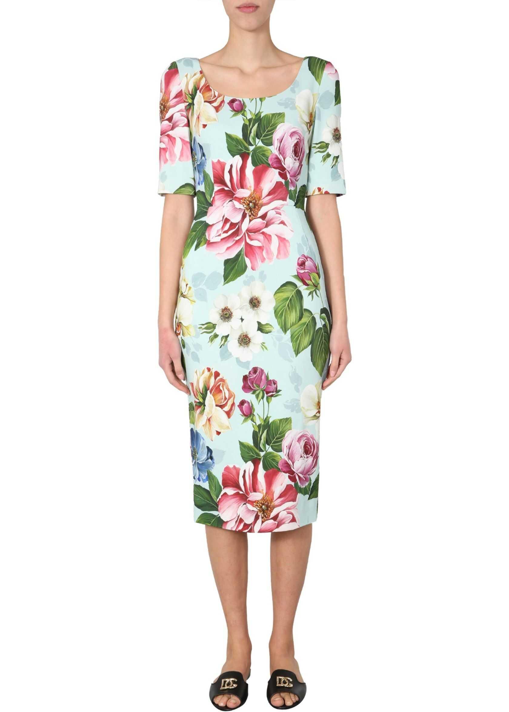 Dolce & Gabbana Long Dress AZURE