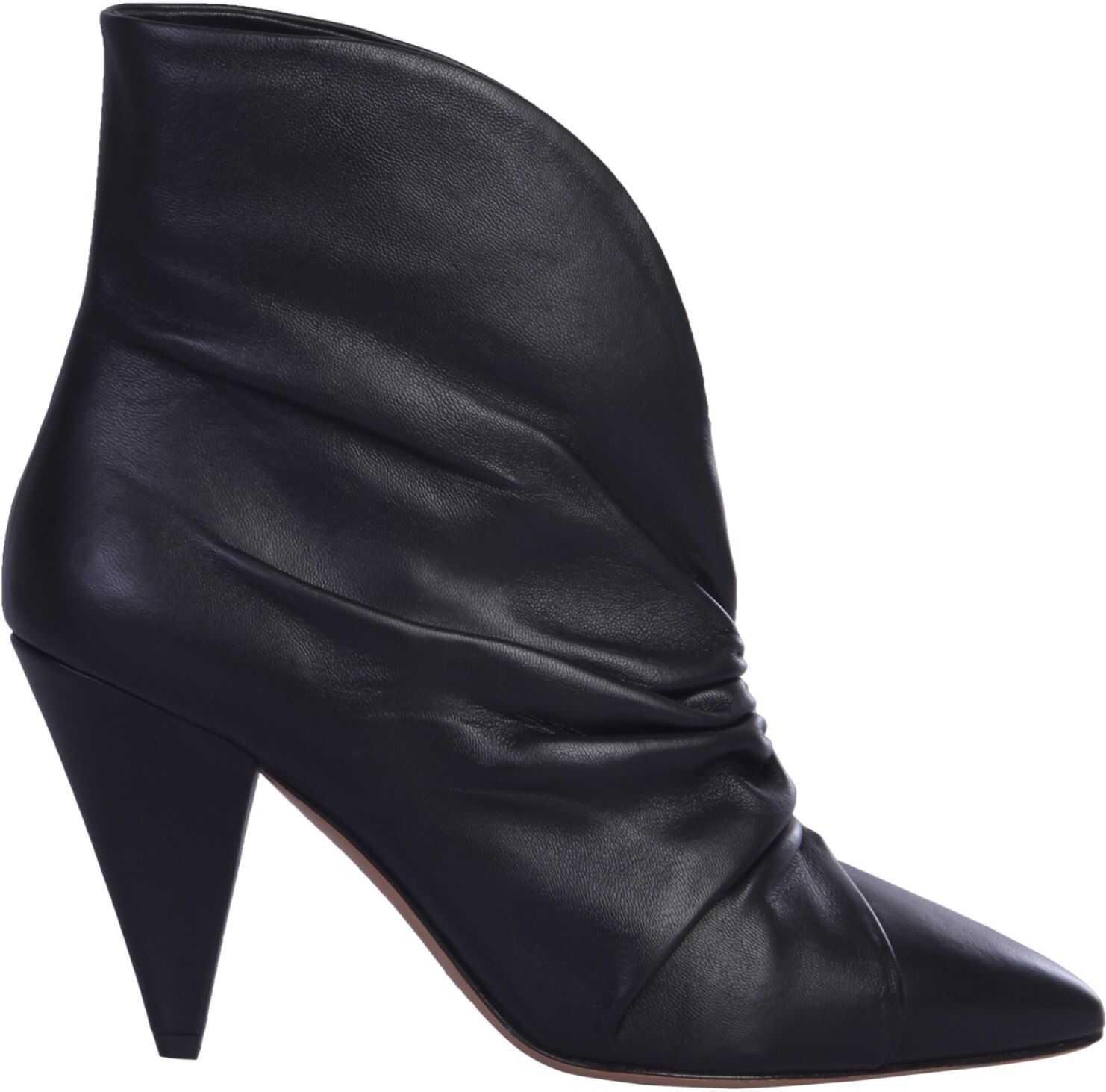 Isabel Marant Lasteen Ankle Boots BLACK