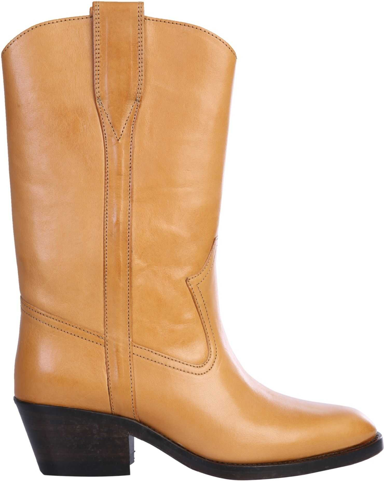 Isabel Marant Texan Danta Boots BUFF