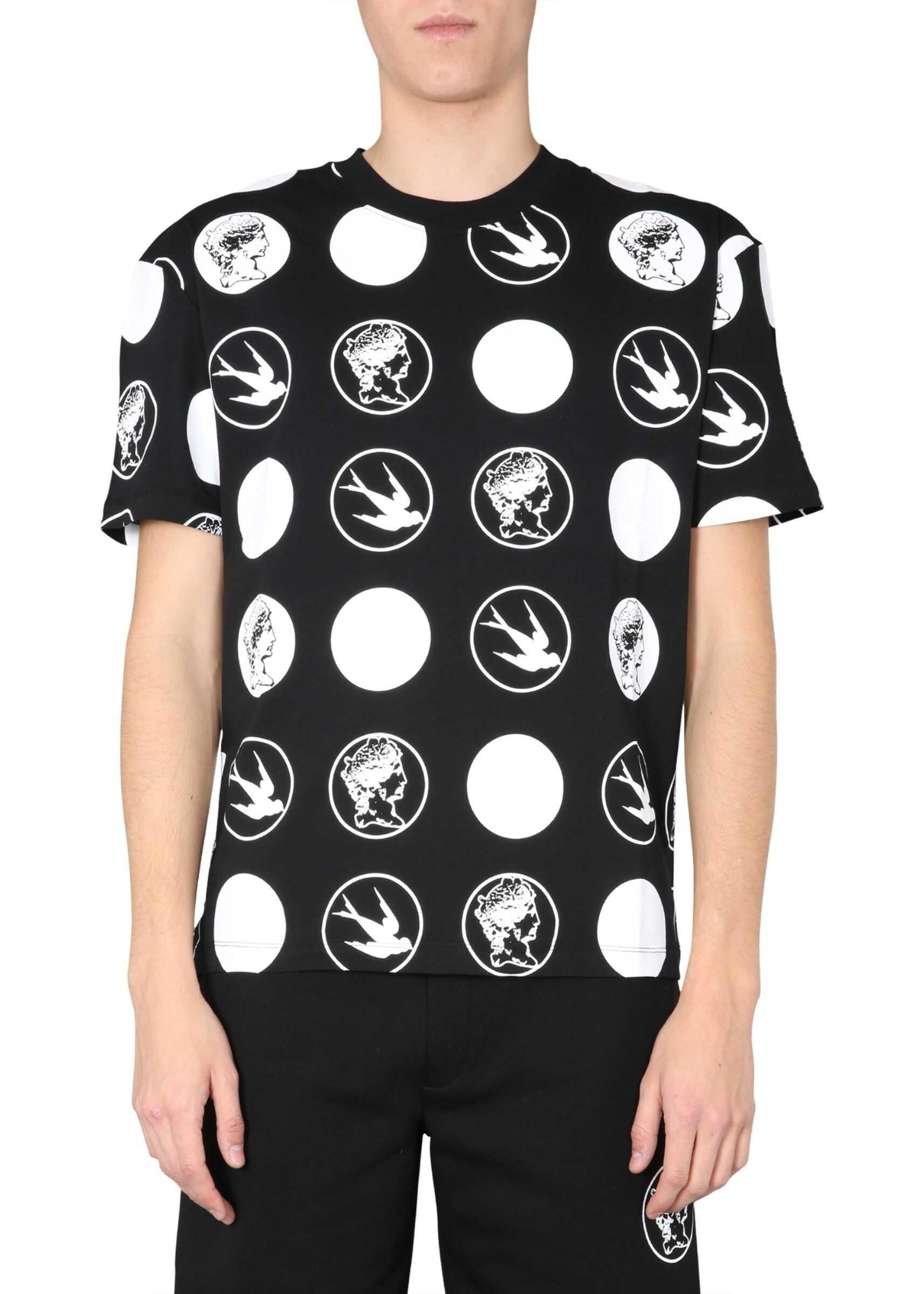 MCQ Alexander McQueen Round Neck T-Shirt BLACK
