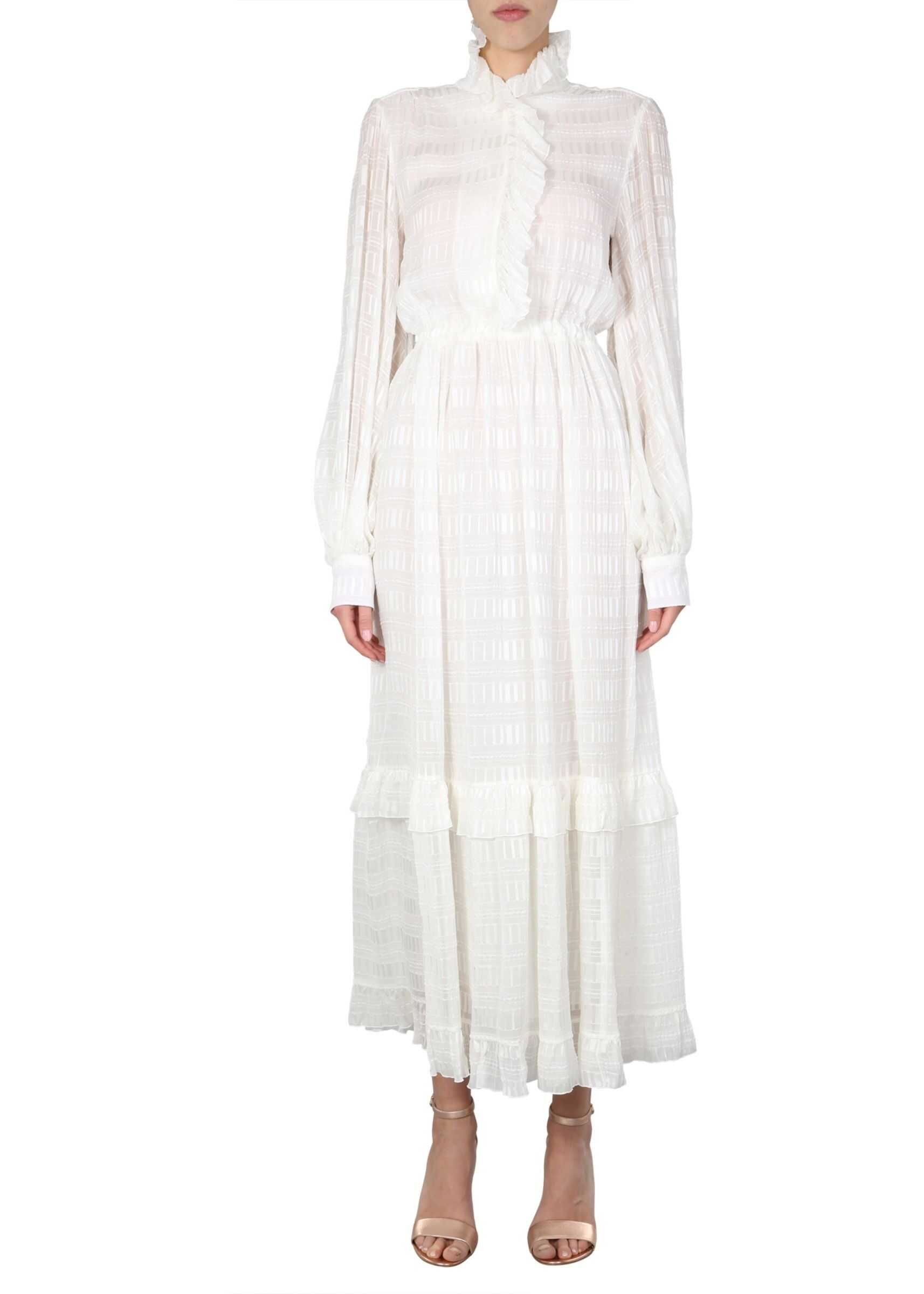 ETRO Long Dress WHITE