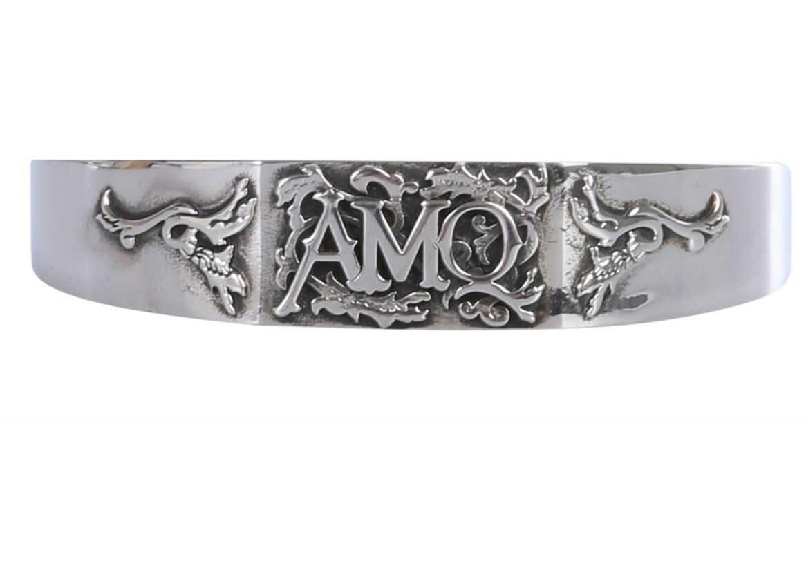 Alexander McQueen Rigid Bracelet SILVER