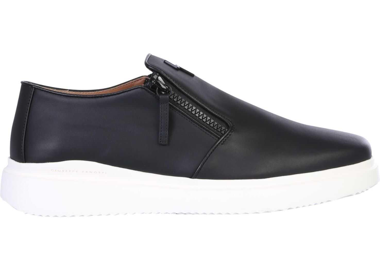 "Giuseppe Zanotti ""Dawson"" Sneakers IU90035_012 BLACK imagine b-mall.ro"