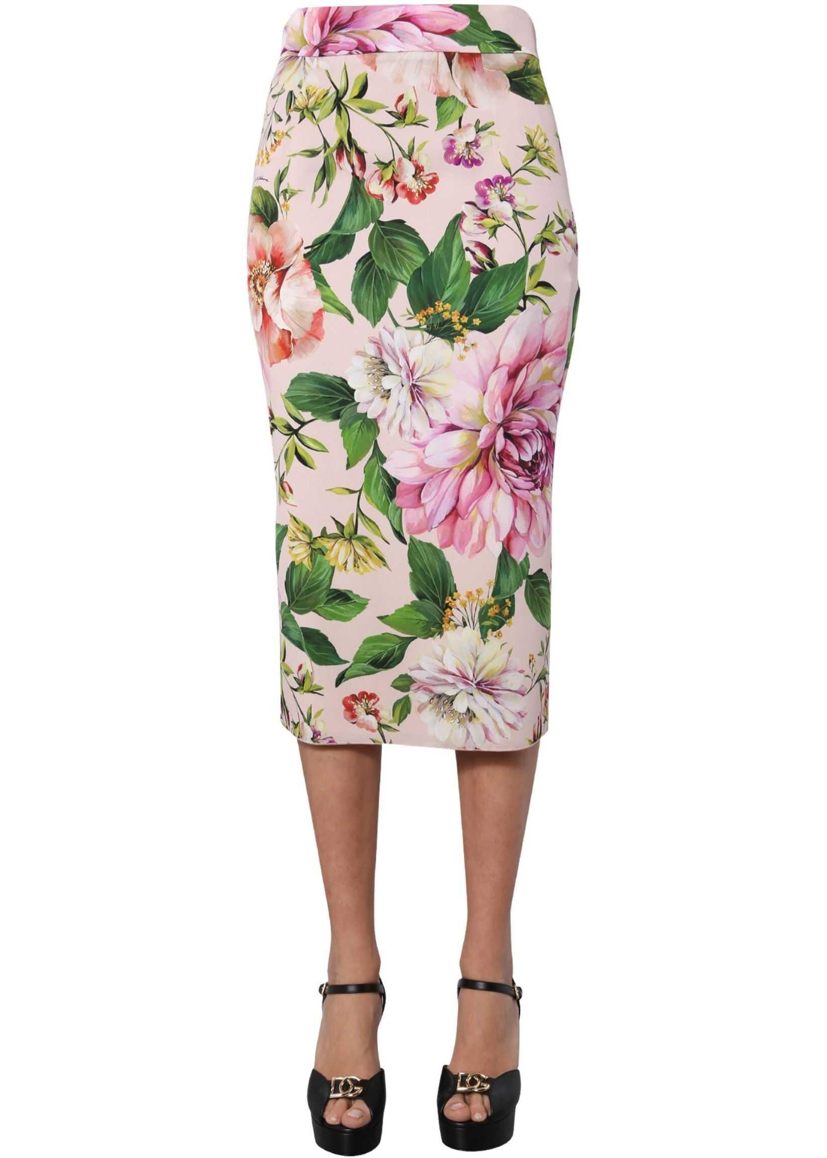 Dolce & Gabbana Long Skirt PINK