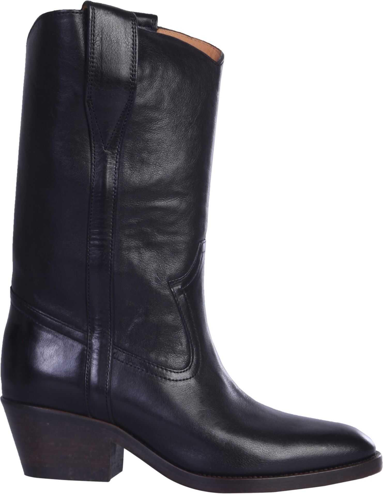 Isabel Marant Texan Danta Boots BLACK