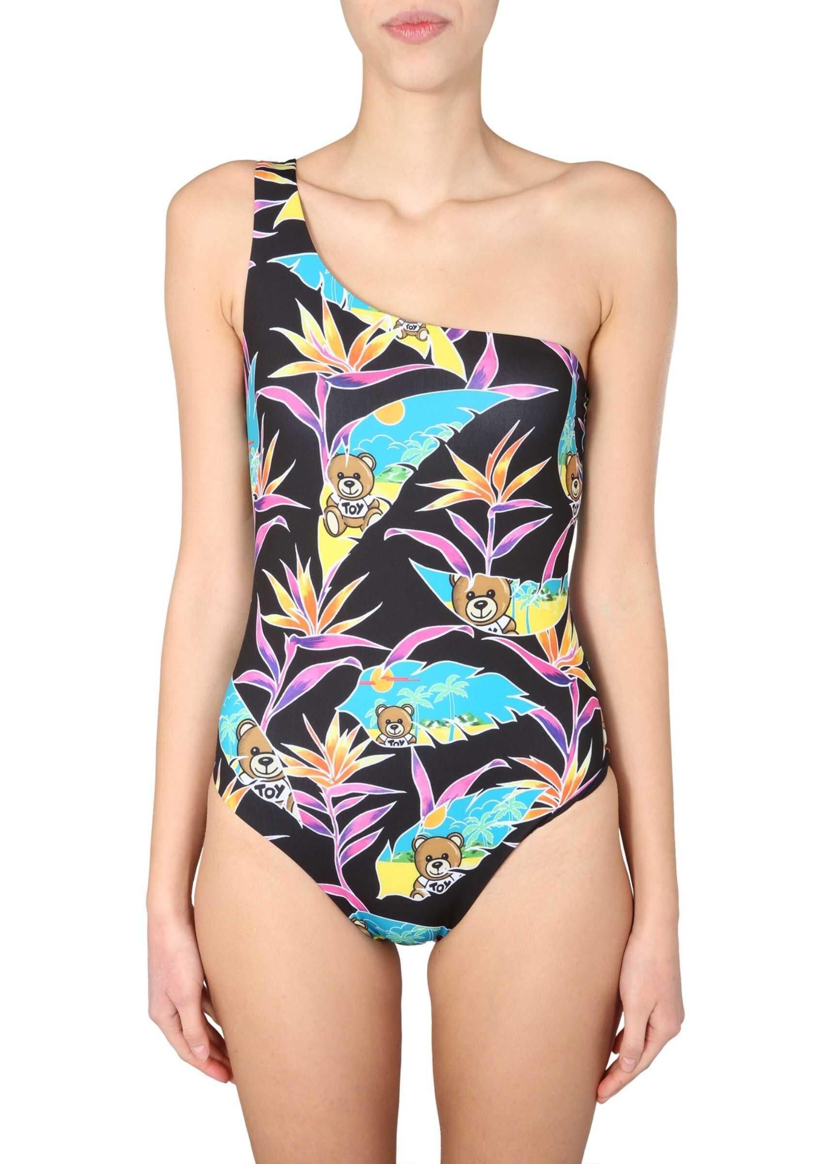 Moschino Swimsuit BLACK