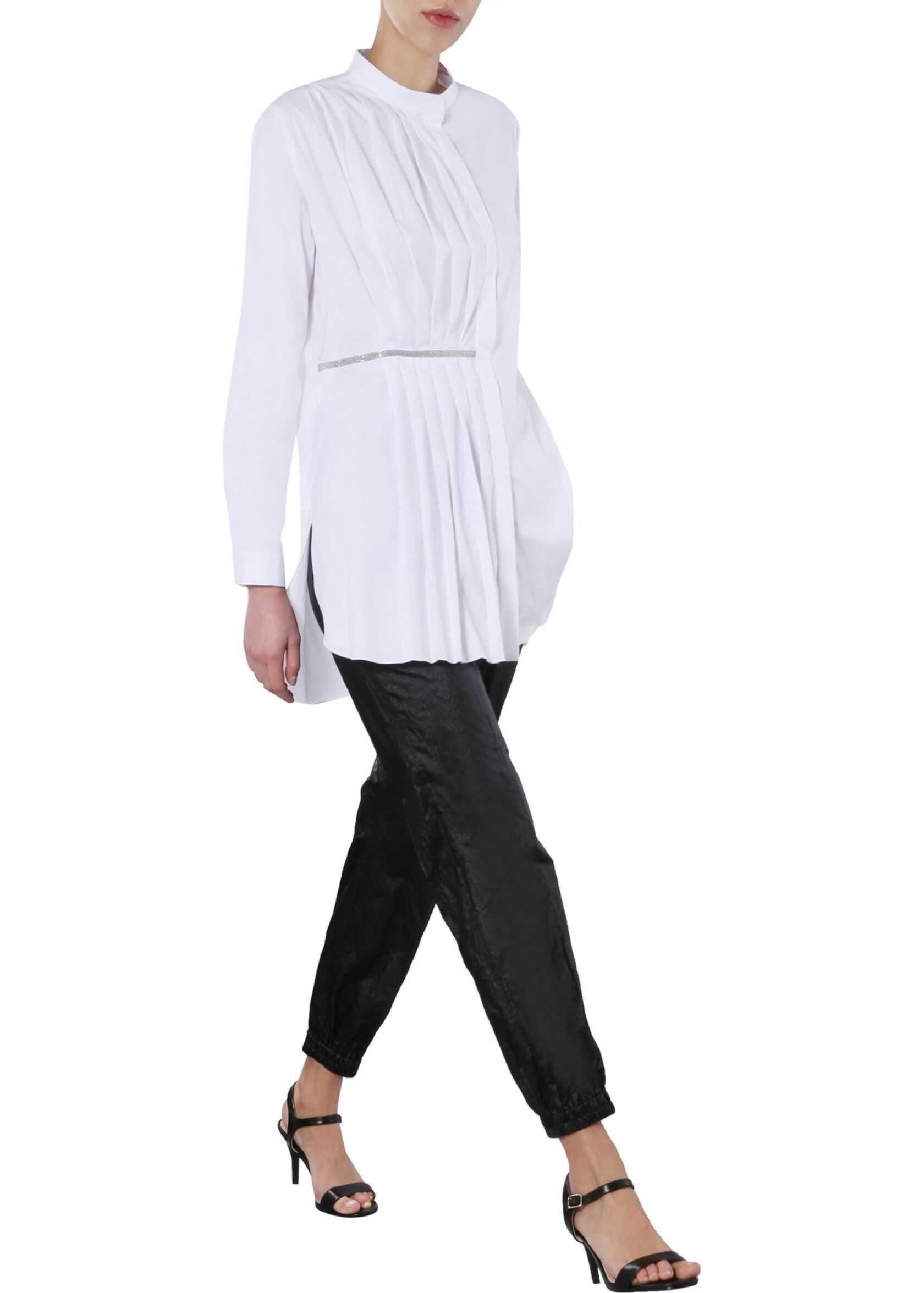 Fabiana Filippi Shirt With Pleats WHITE