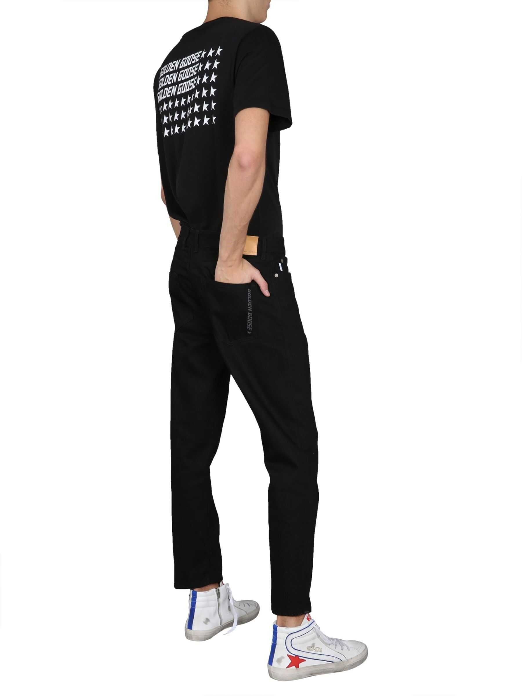 Golden Goose Skinny Fit Jeans BLACK