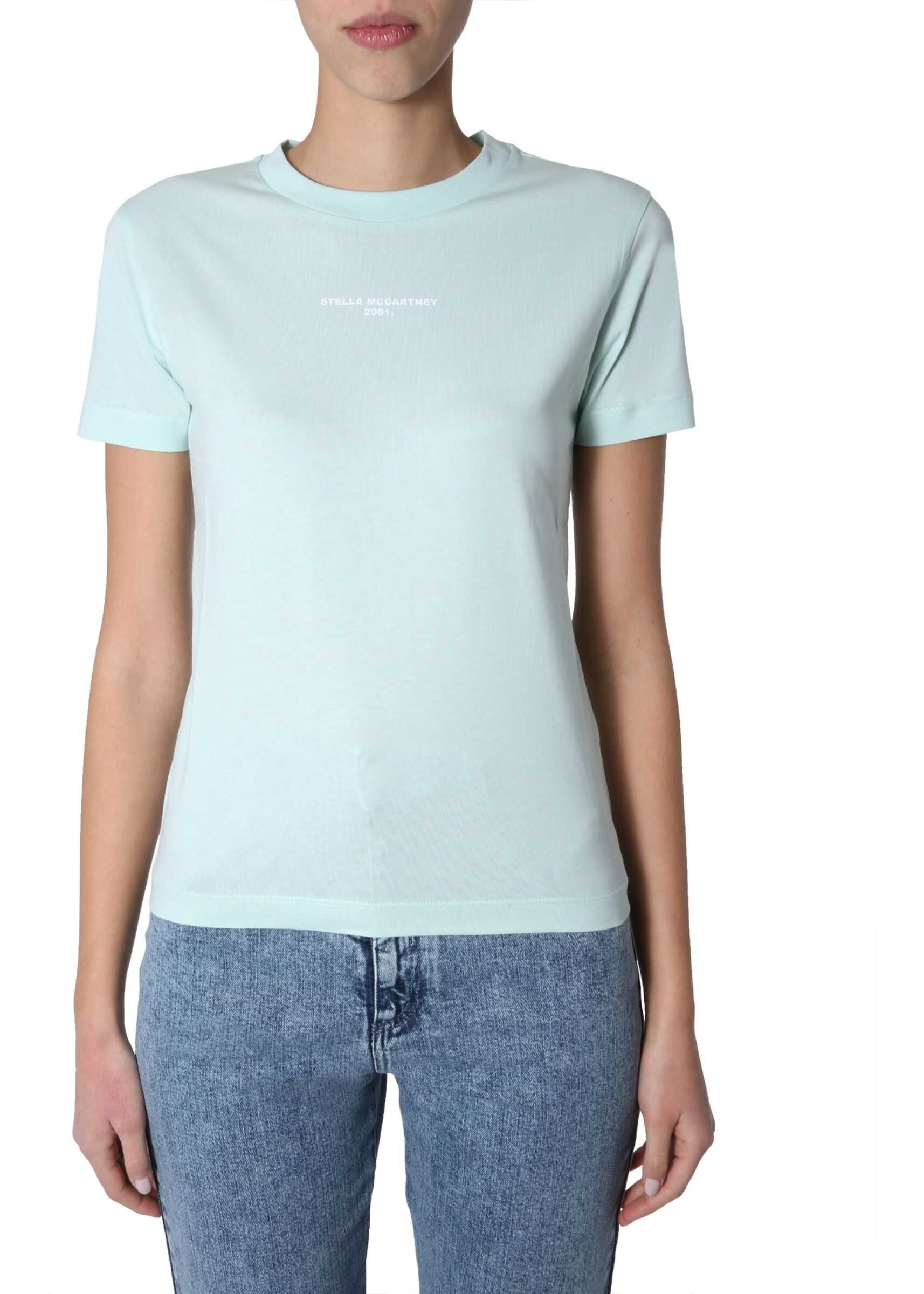 adidas by Stella McCartney Round Neck T-Shirt GREEN