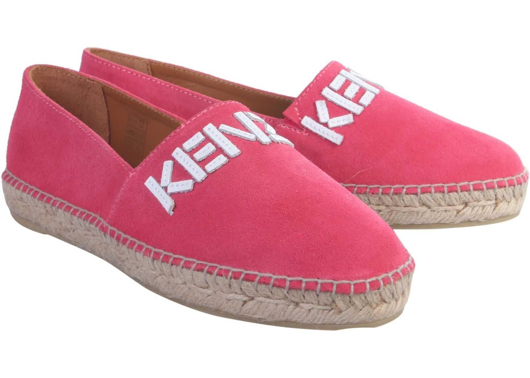 Kenzo Espradillas With Logo RED