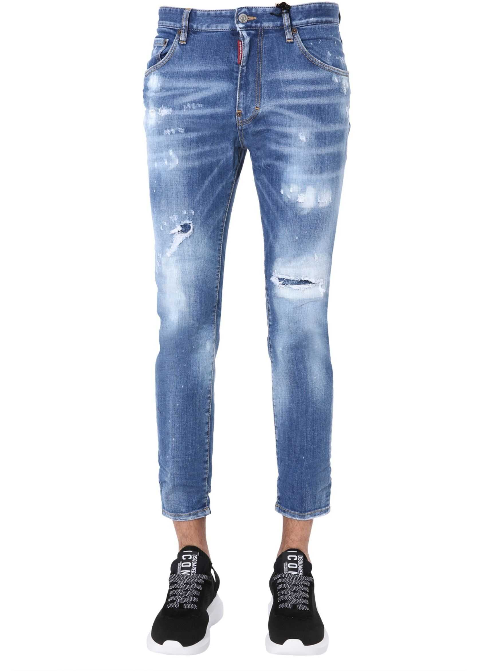 DSQUARED2 Boot Cut Jeans BLUE