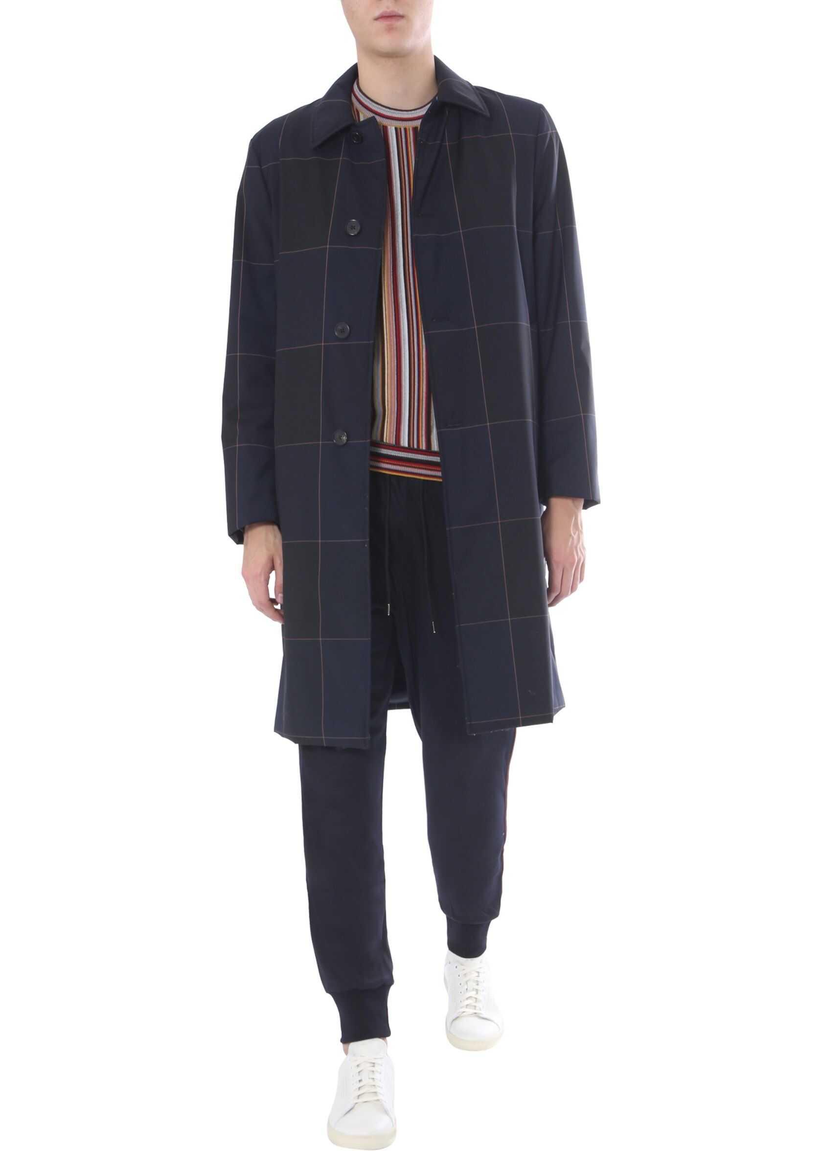 Paul Smith Padded Coat BLUE