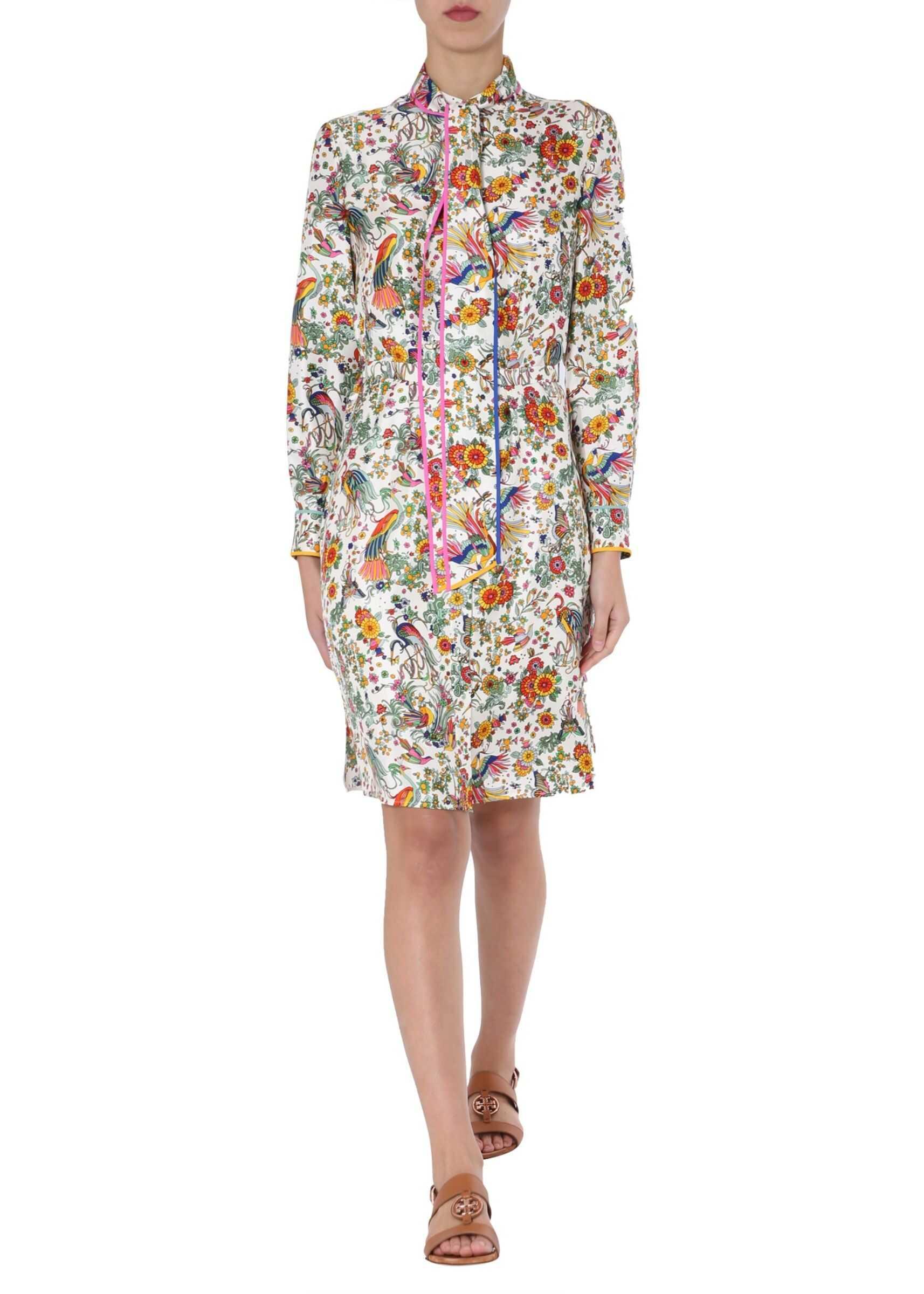 Tory Burch Shirt Dress MULTICOLOUR