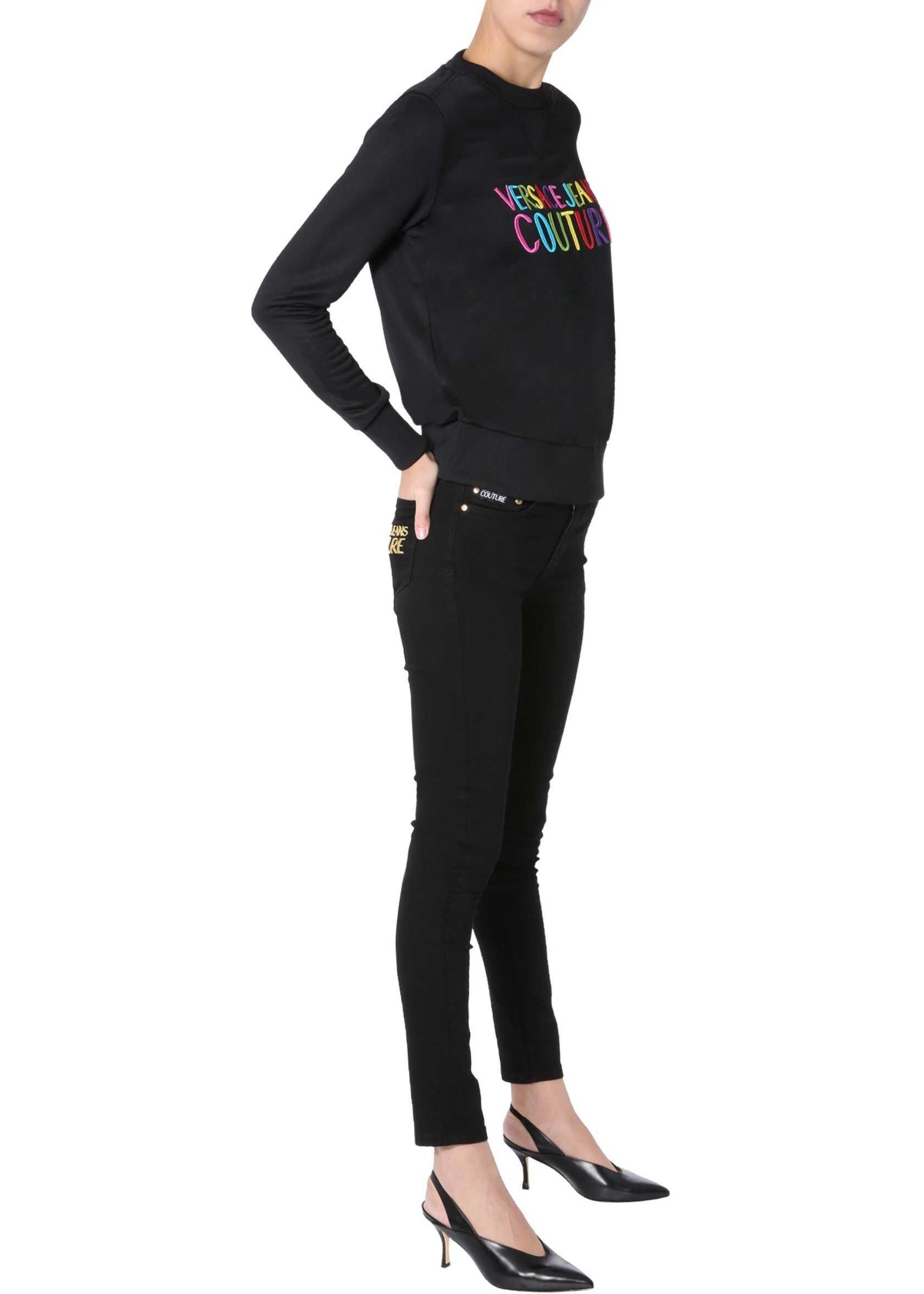 Versace Jeans Couture Round Neck Sweatshirt BLACK