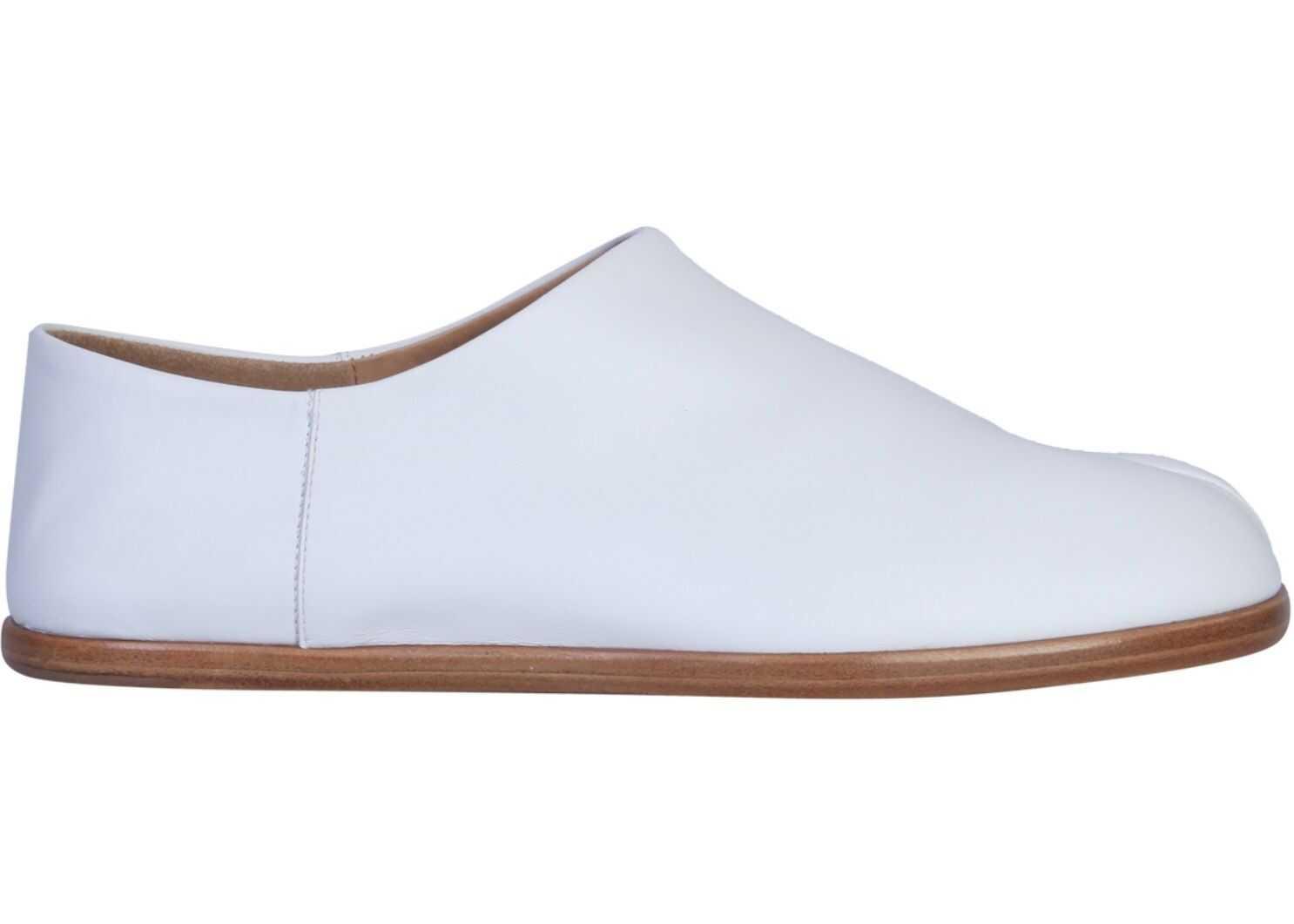 Maison Margiela Tabi Slip On Sneaker WHITE