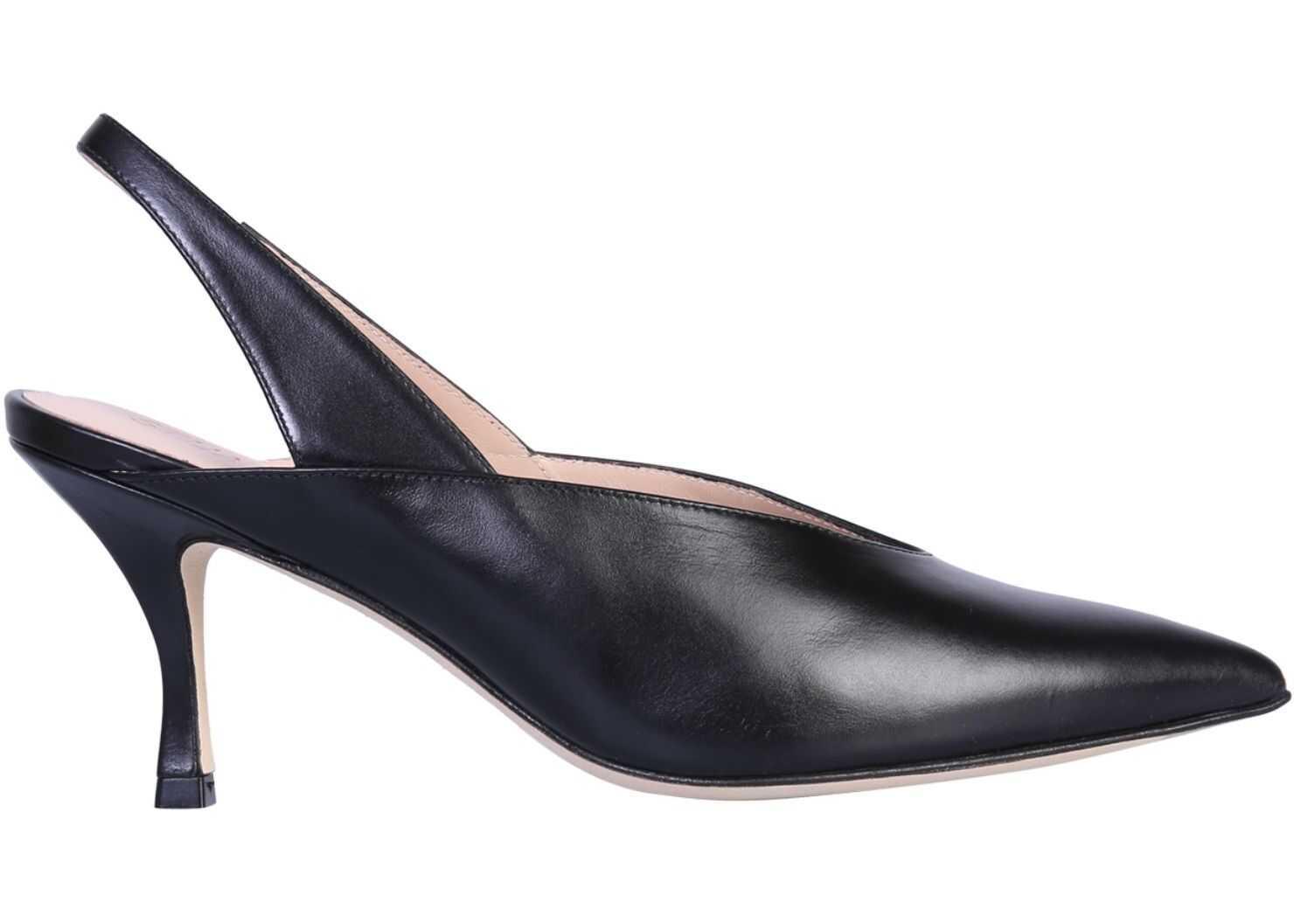 Stuart Weitzman Sling Back Sandal BLACK