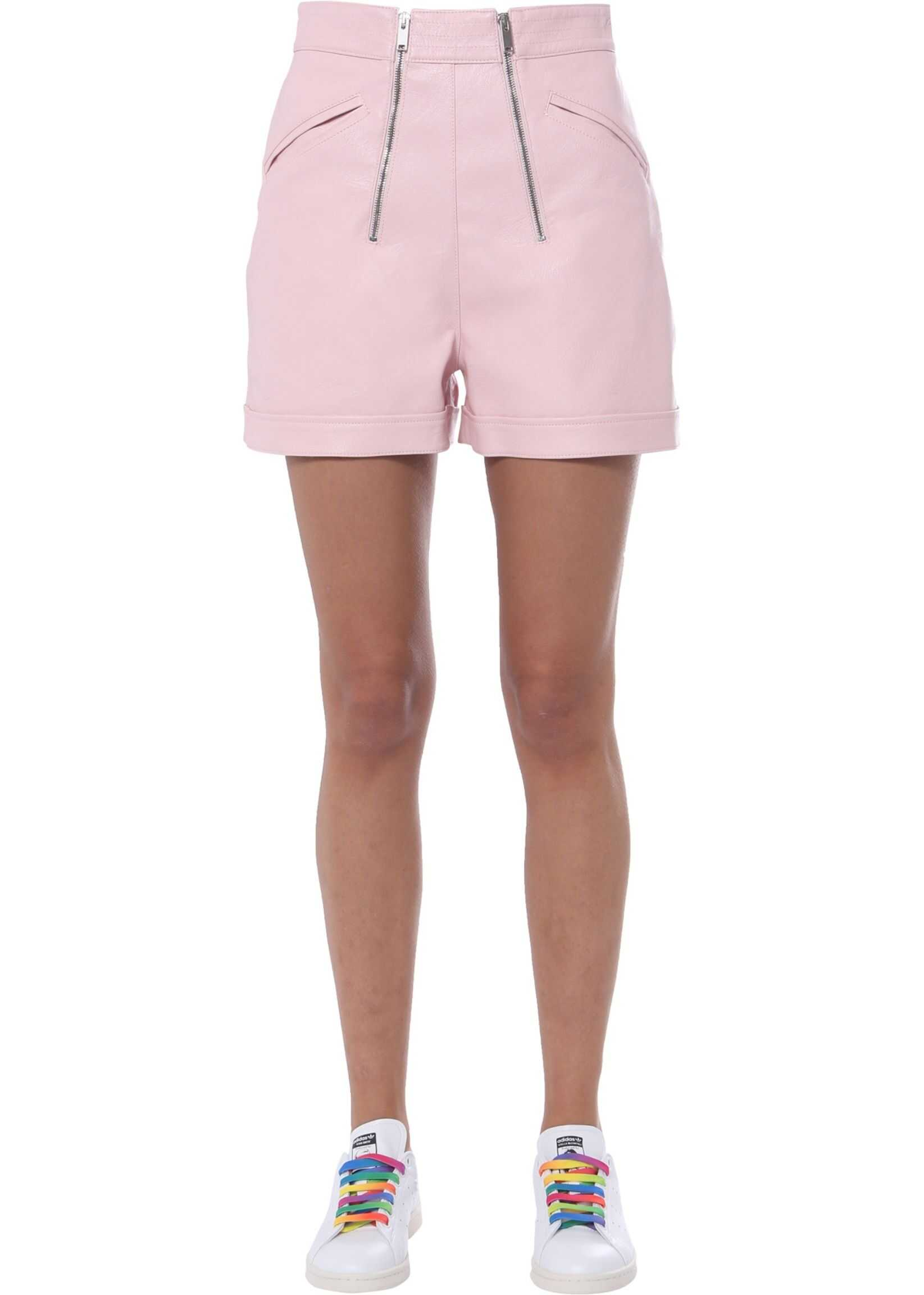 adidas by Stella McCartney Shorts With Zip PINK
