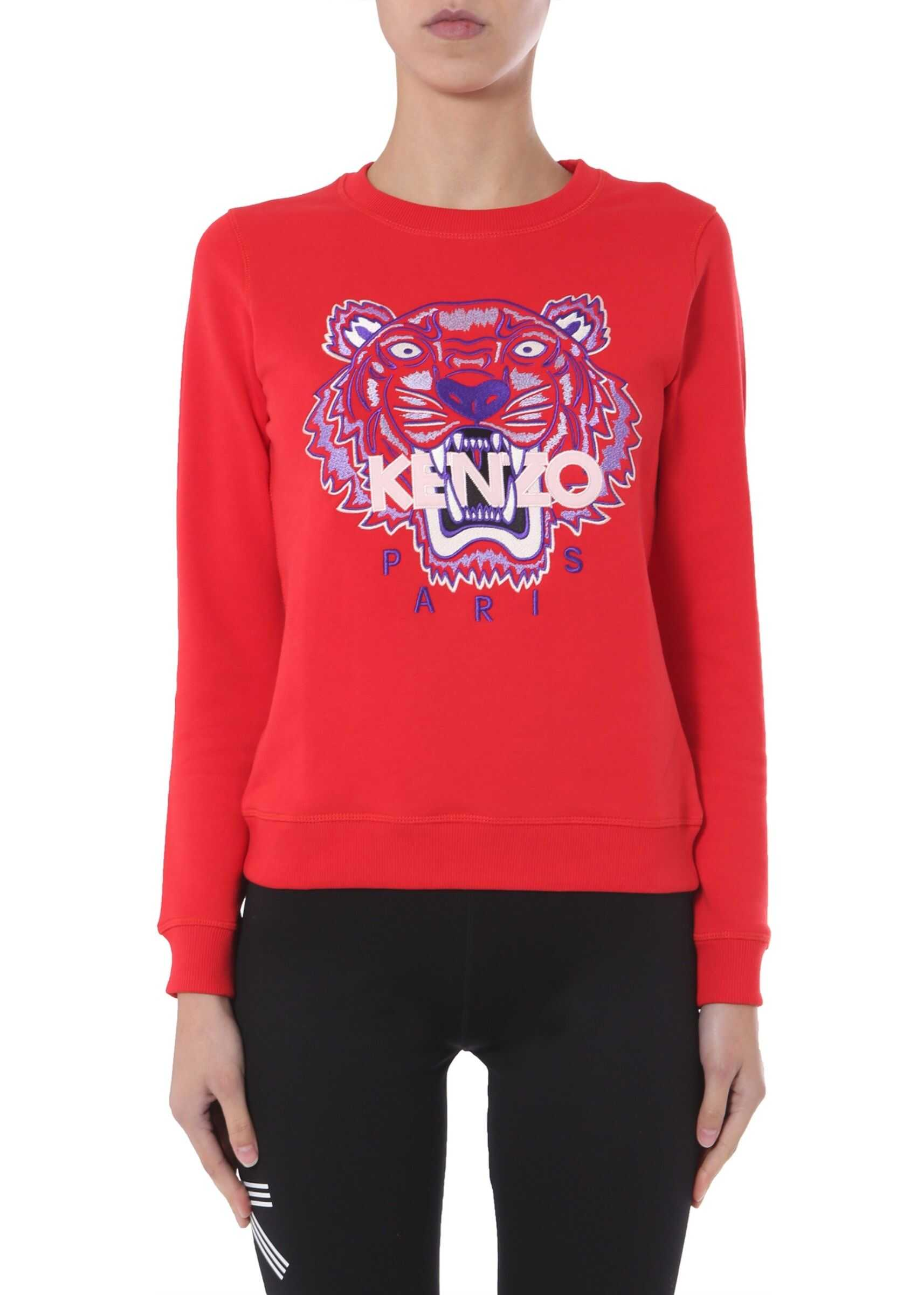 Kenzo Round Neck Sweatshirt RED