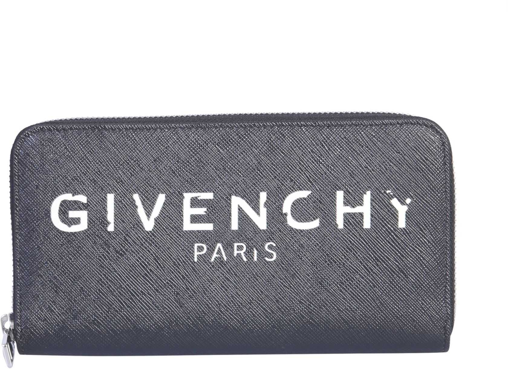 Givenchy Continental Zip Wallet BLACK
