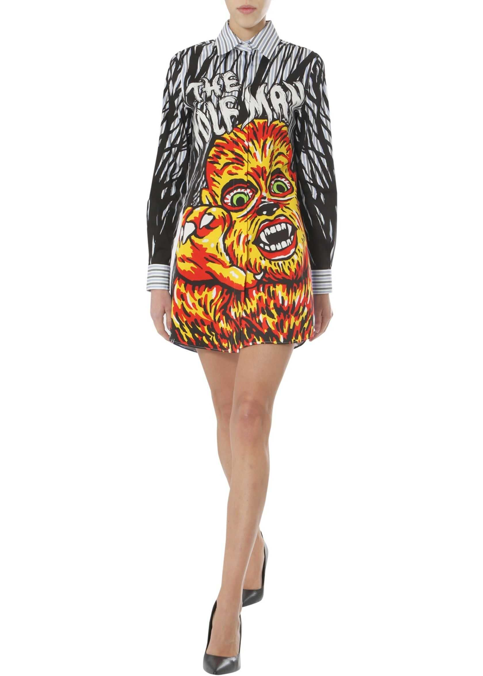 Moschino Printed Shirt Dress MULTICOLOUR