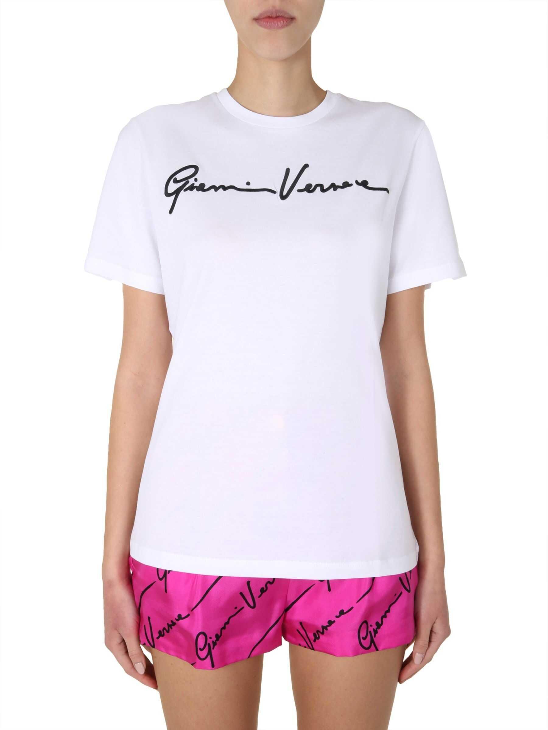 Versace Round Neck T-Shirt WHITE
