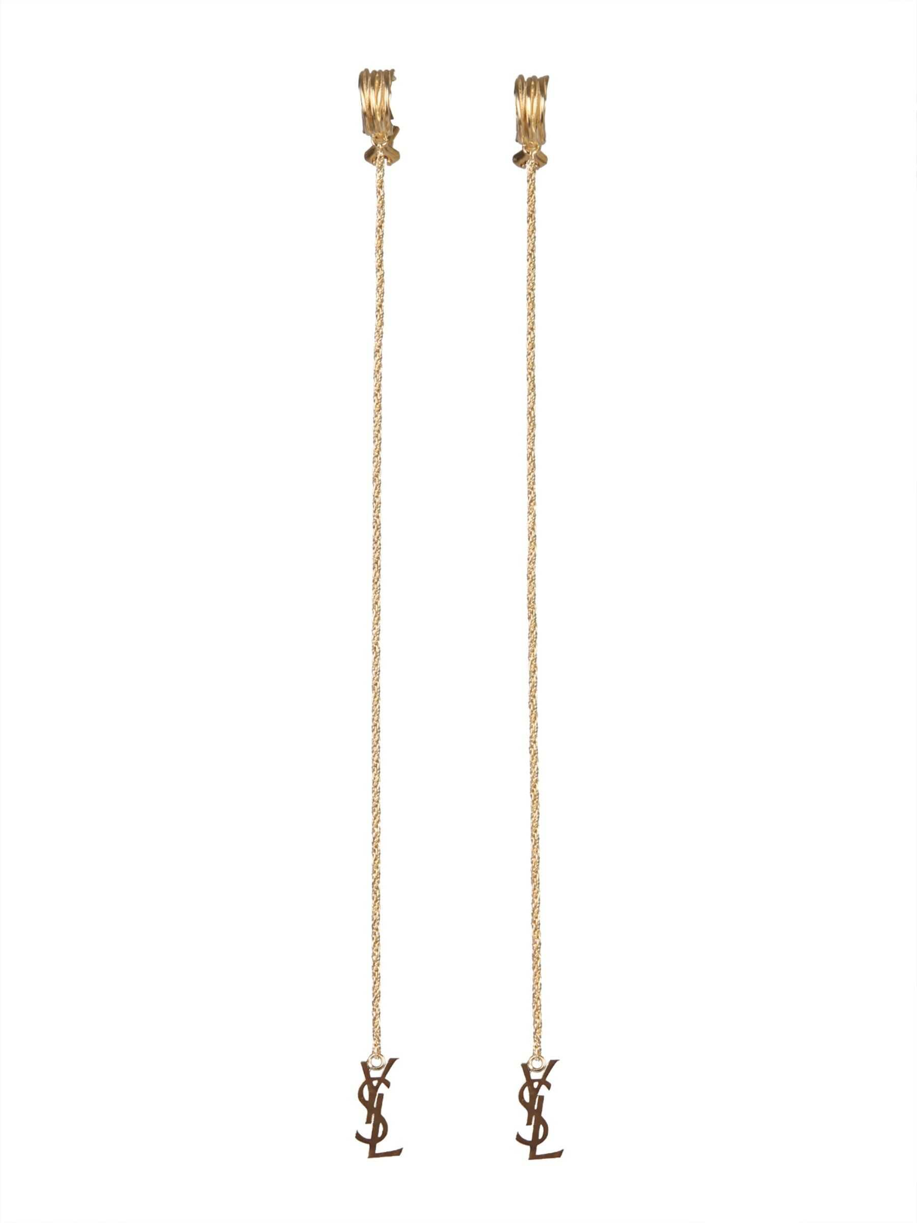 Saint Laurent Opyum Earrings GOLD