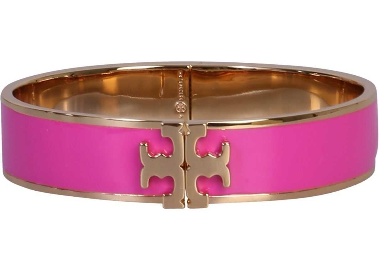 Tory Burch Bracelet With Logo PINK
