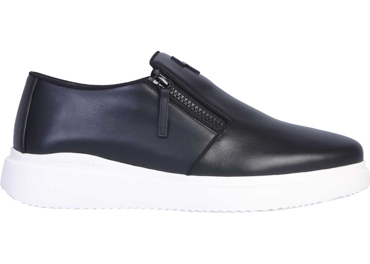 Giuseppe Zanotti Dawson Sneaker IU90035_003 BLACK imagine b-mall.ro